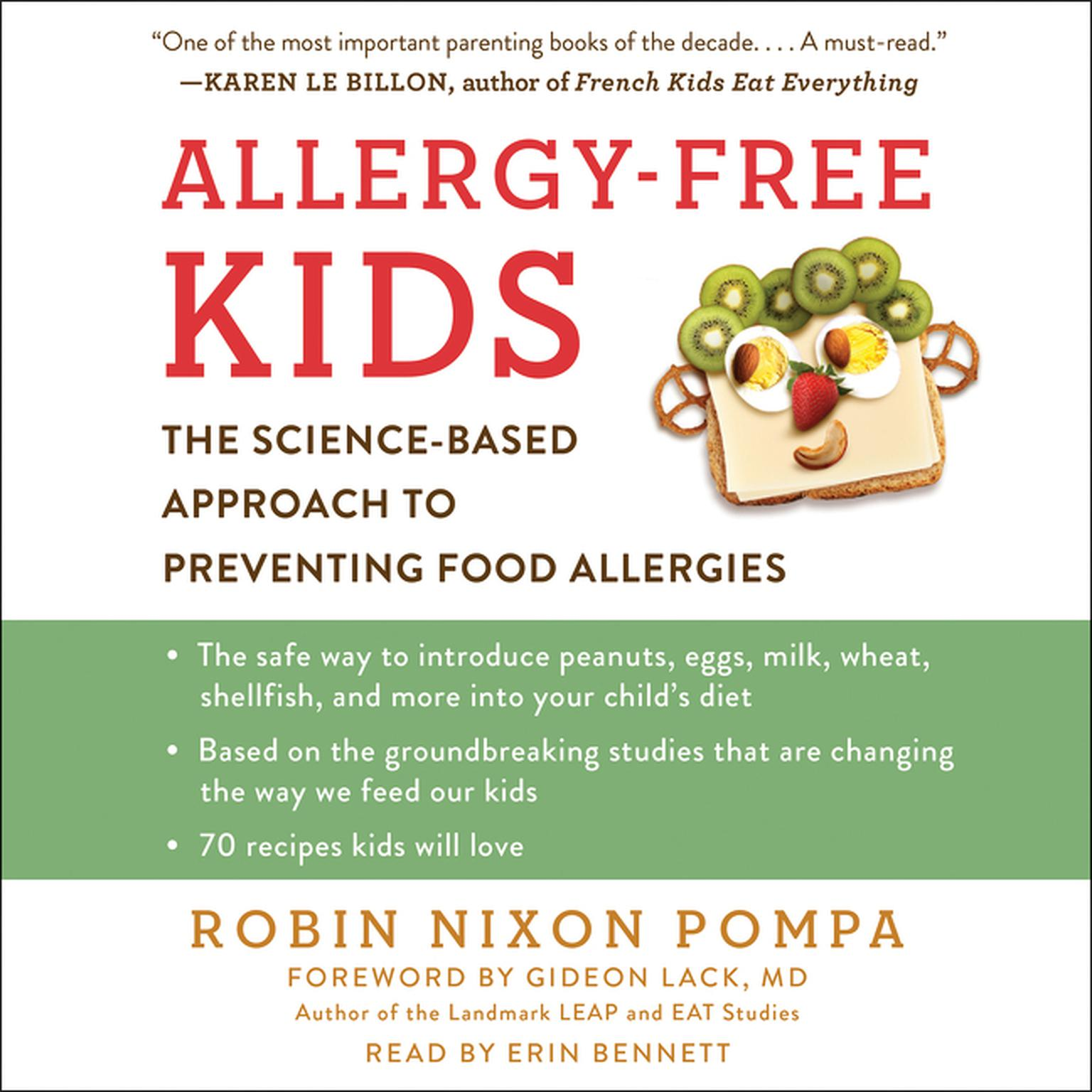 Printable Allergy-Free Kids: The Science-Based Approach to Preventing Food Allergies Audiobook Cover Art