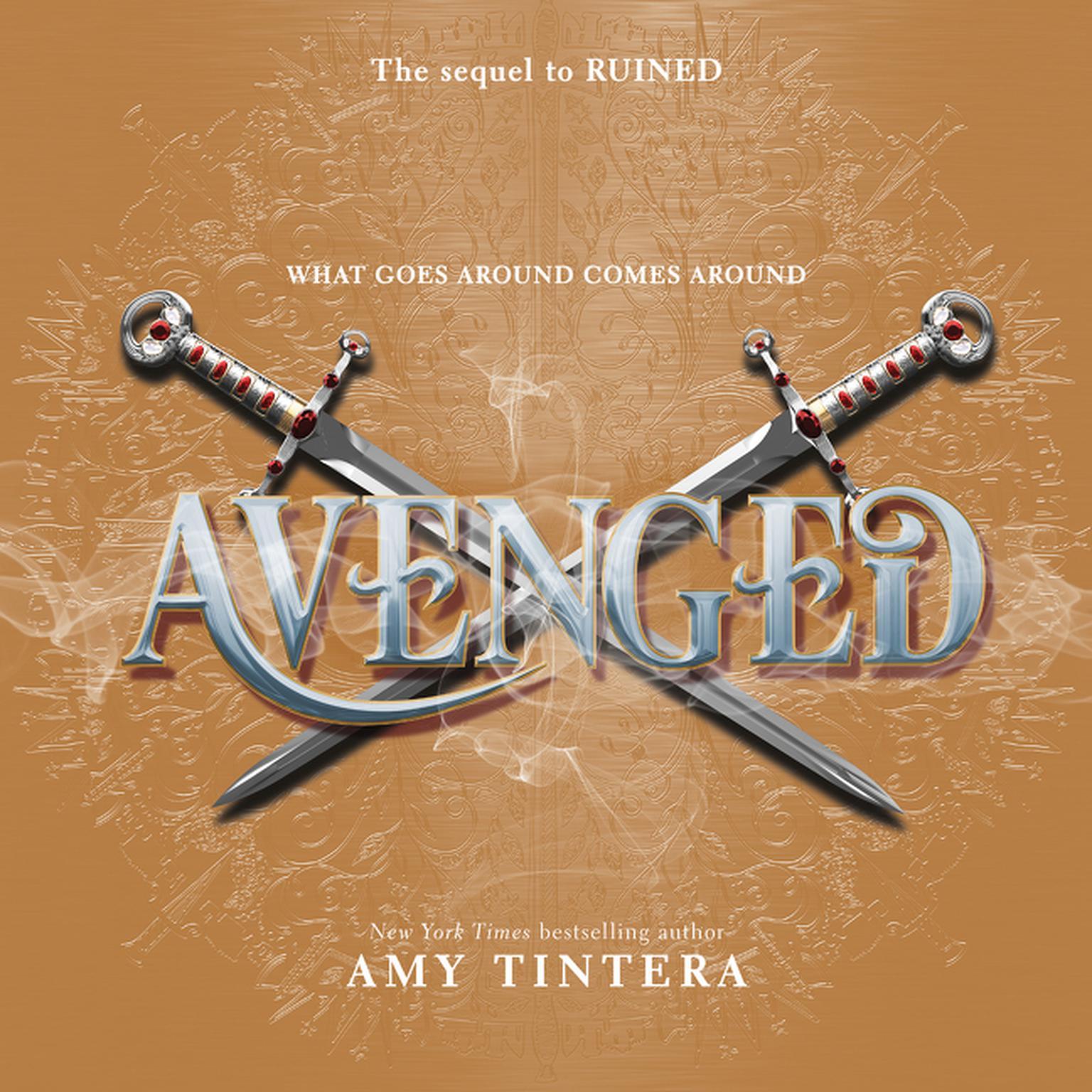 Printable Avenged Audiobook Cover Art