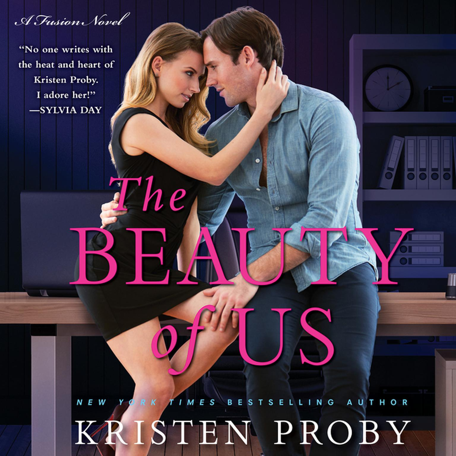 Printable The Beauty of Us: A Fusion Novel Audiobook Cover Art