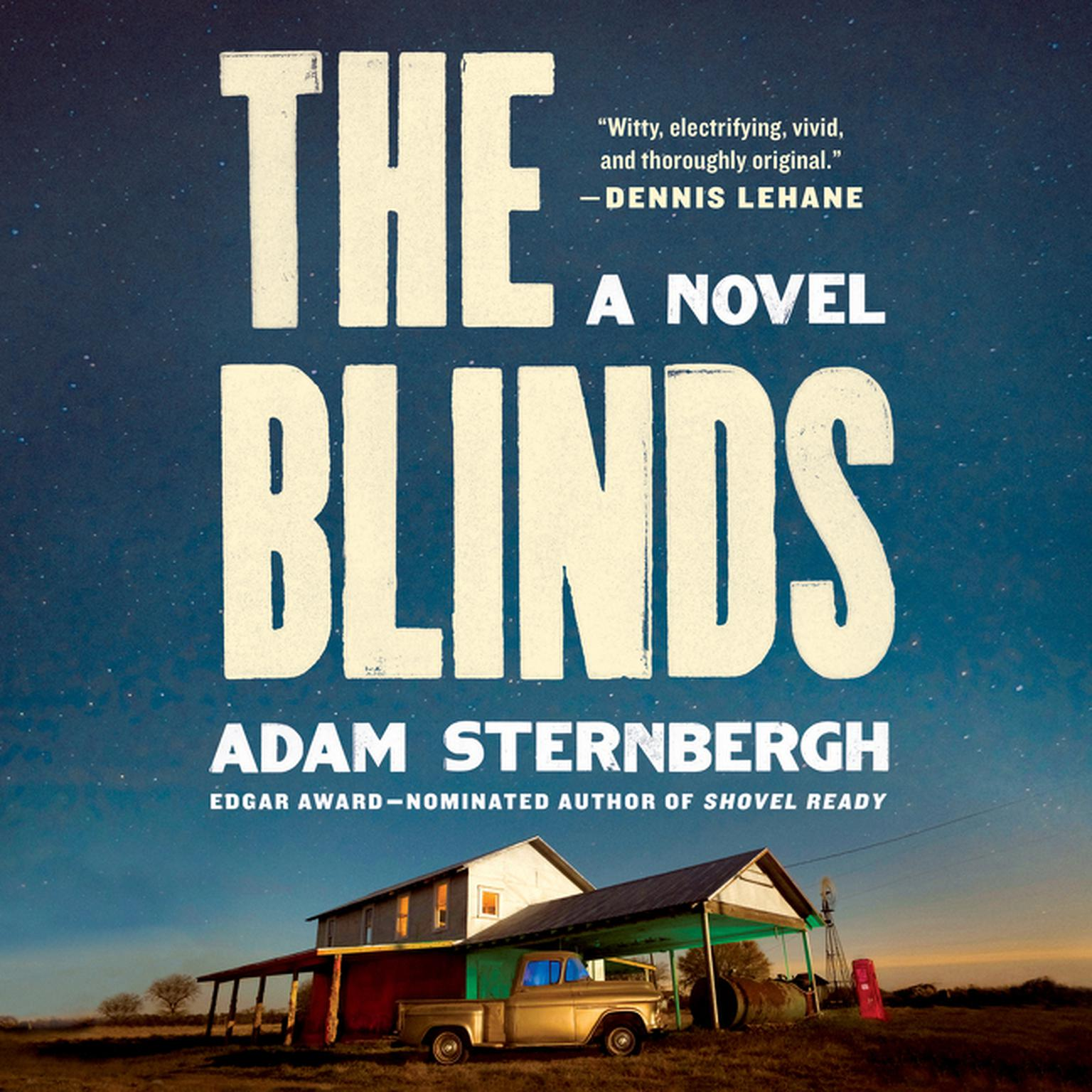 Printable The Blinds: A Novel Audiobook Cover Art