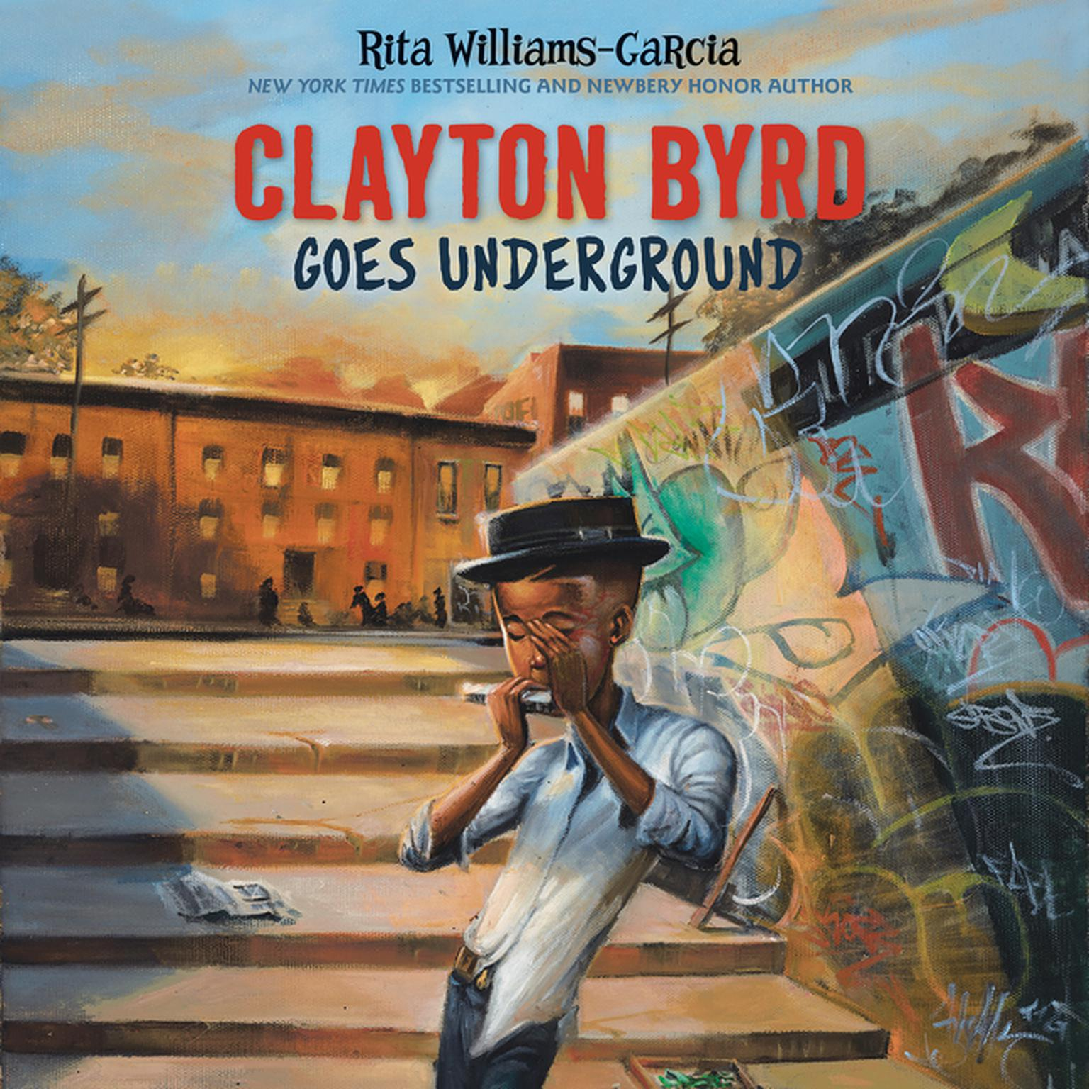 Printable Clayton Byrd Goes Underground Audiobook Cover Art