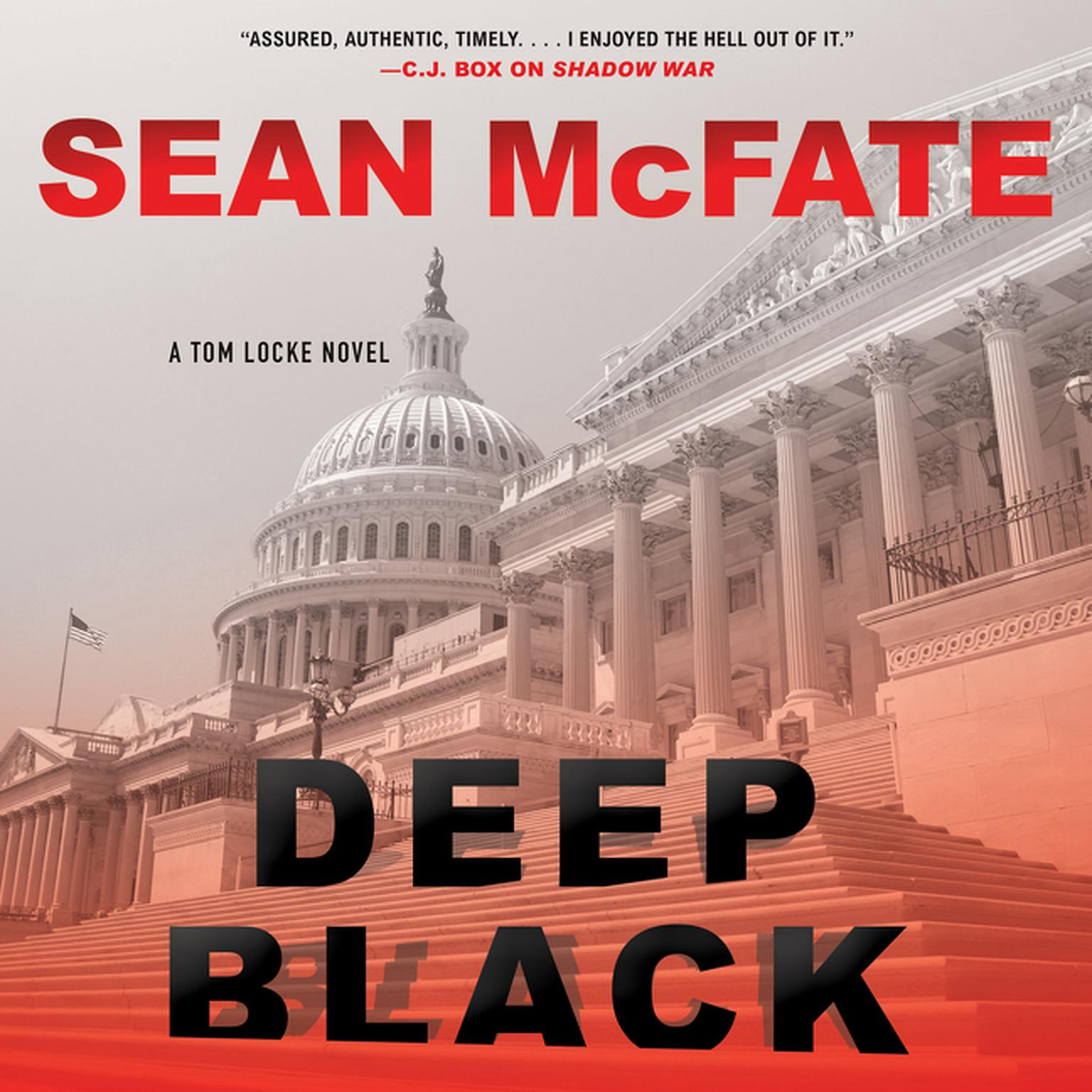 Printable Deep Black: A Tom Locke Novel Audiobook Cover Art