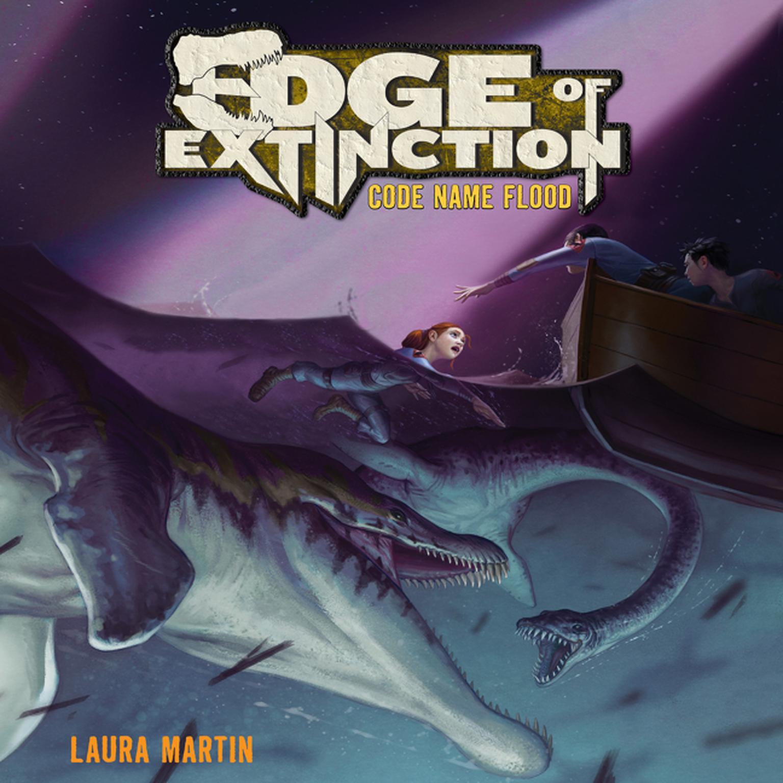 Printable Edge of Extinction #2: Code Name Flood Audiobook Cover Art