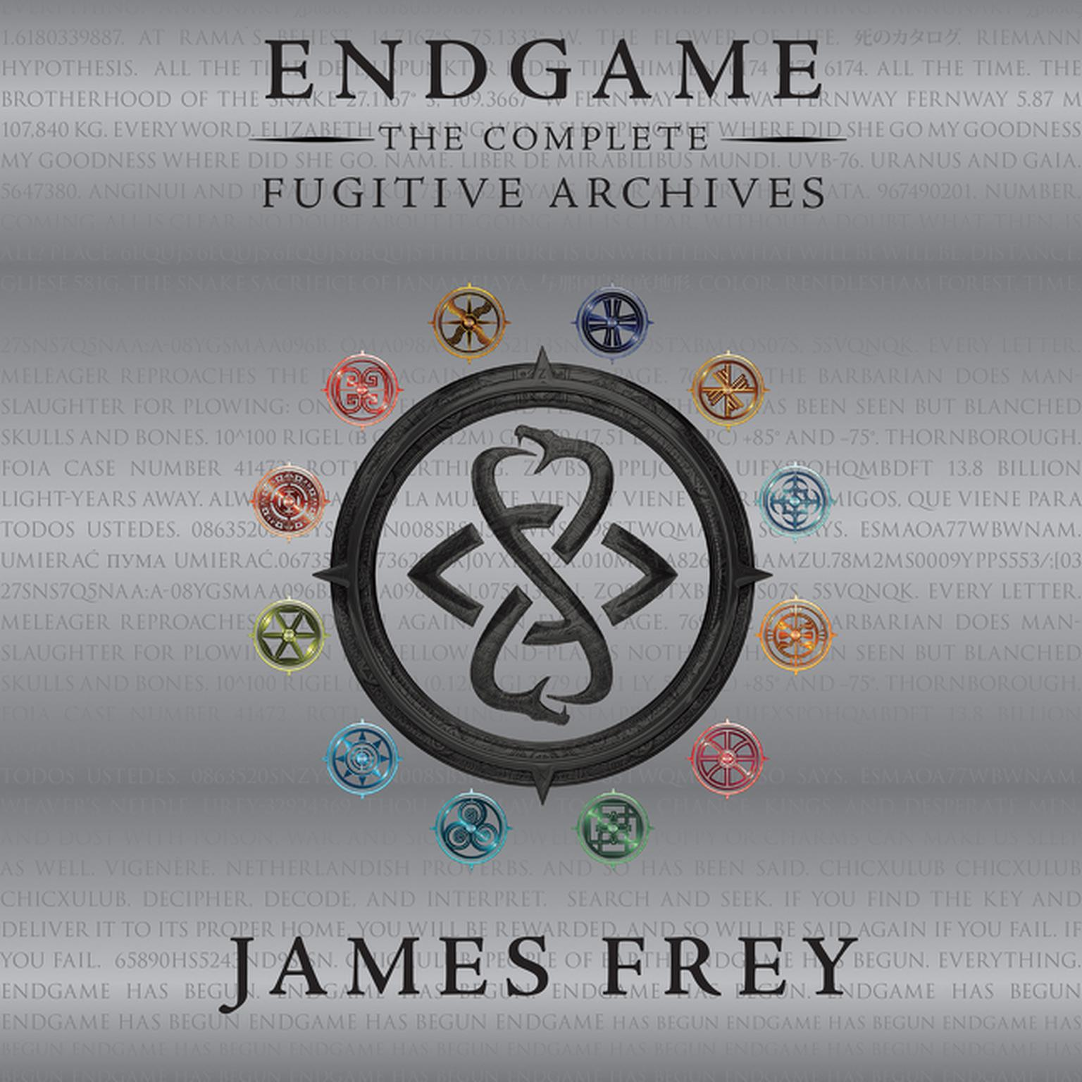 Printable Endgame: The Complete Fugitive Archives Audiobook Cover Art