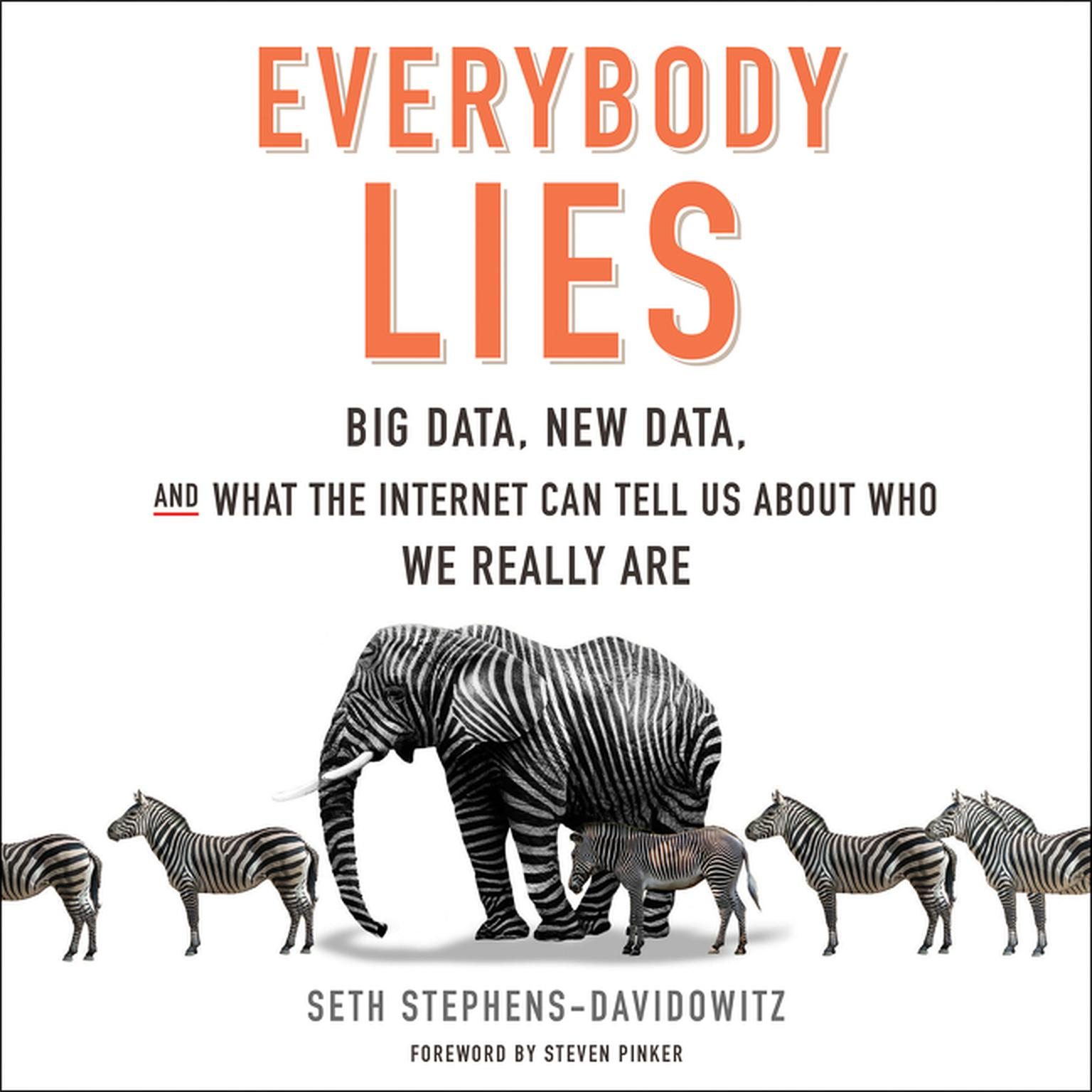 Printable Everybody Lies: Big Data, New Data, and What the Internet Can Tell Us About Who We Really Are Audiobook Cover Art