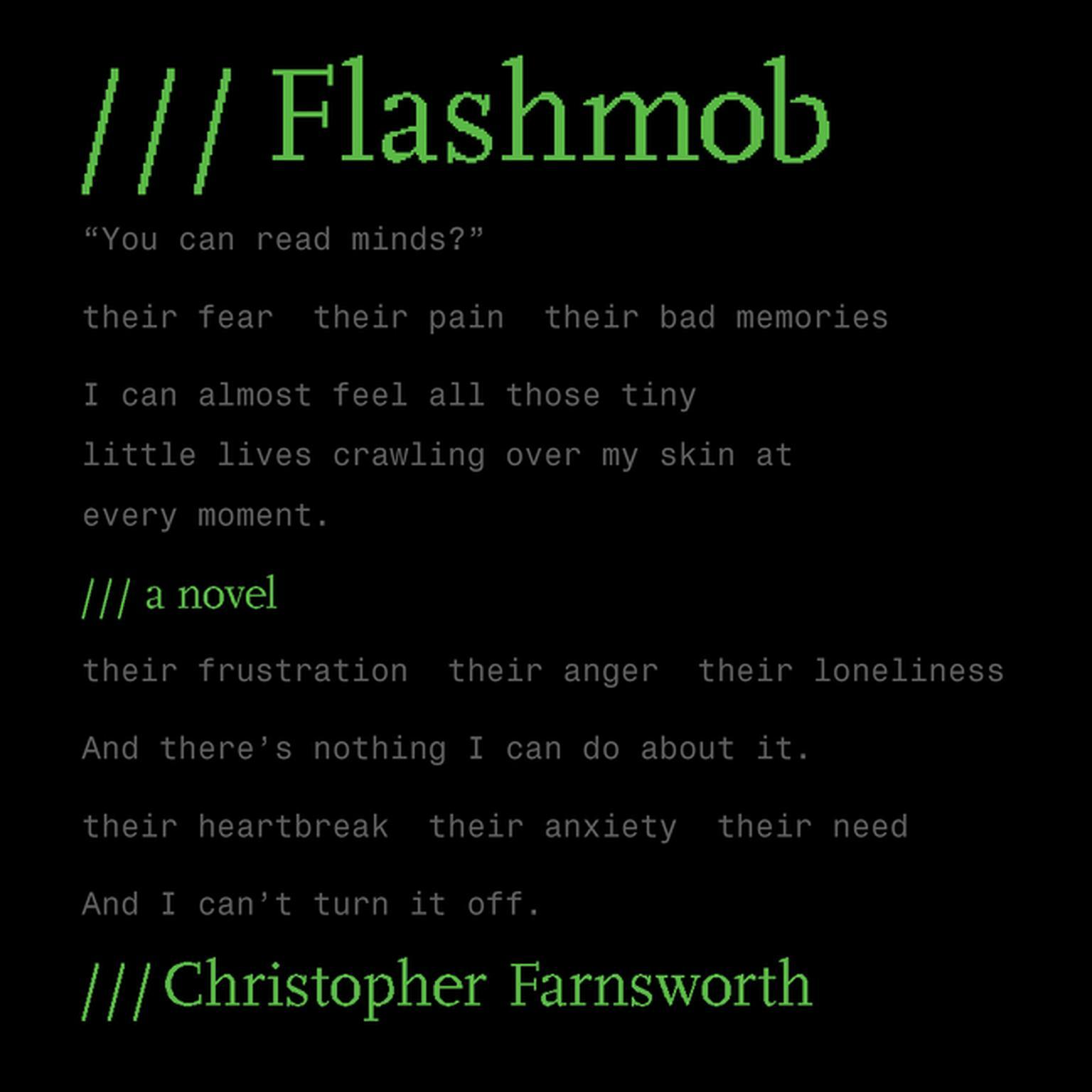 Flashmob: A Novel Audiobook, by Christopher Farnsworth