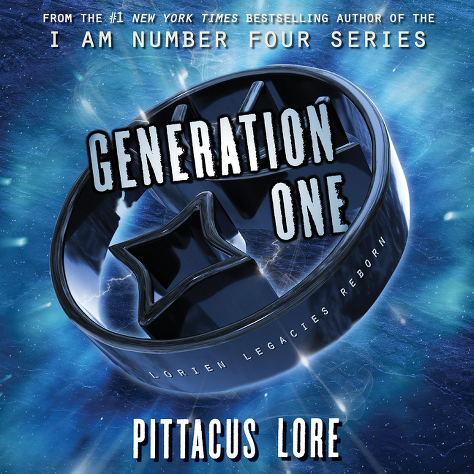 Printable Generation One Audiobook Cover Art