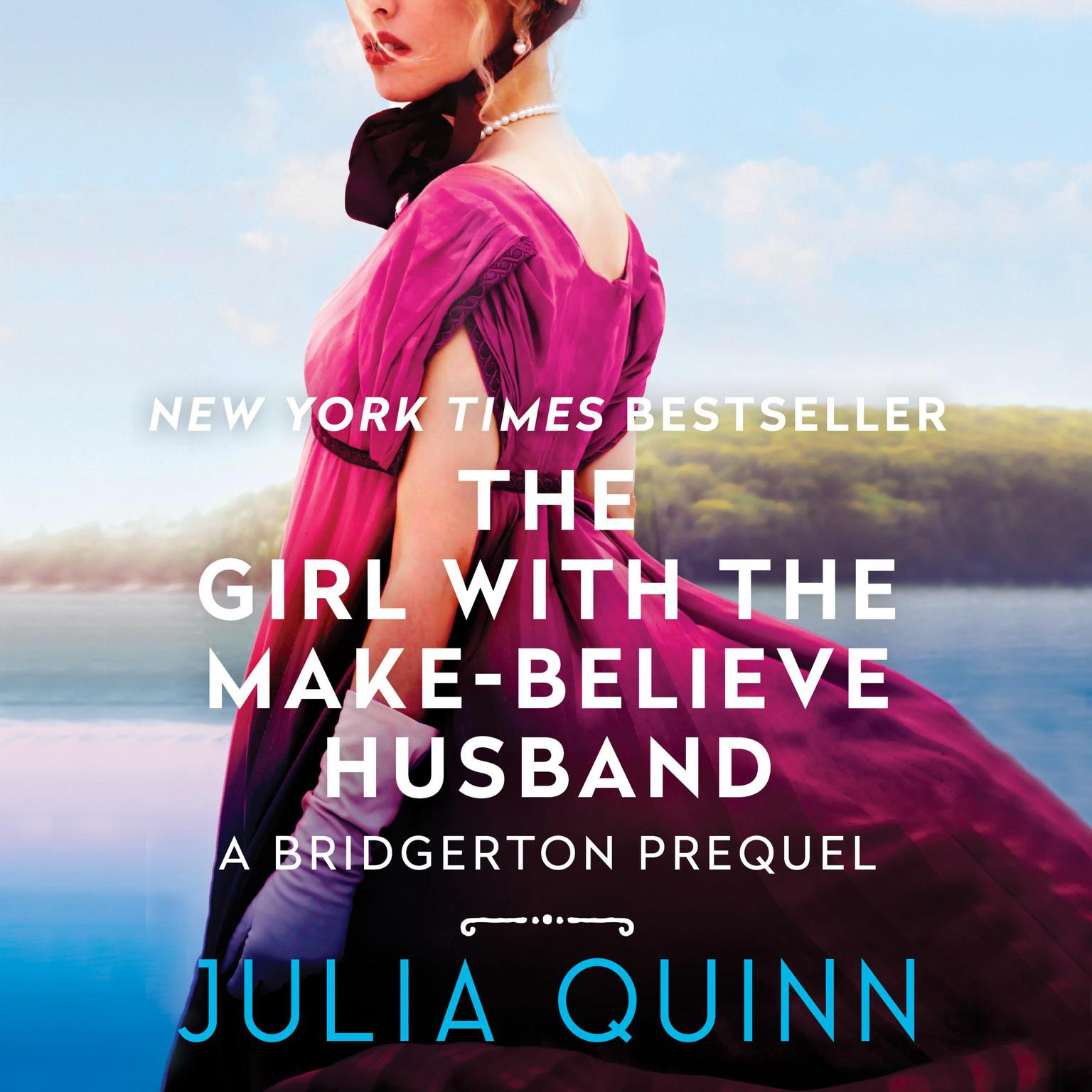 Printable The Girl with the Make-Believe Husband: A Bridgertons Prequel Audiobook Cover Art