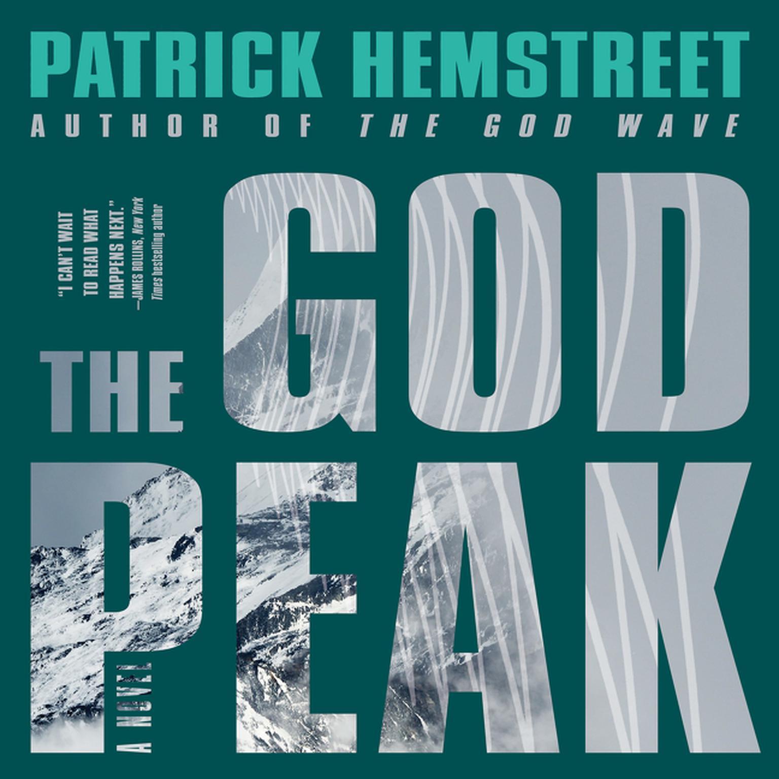 Printable The God Peak: A Novel Audiobook Cover Art