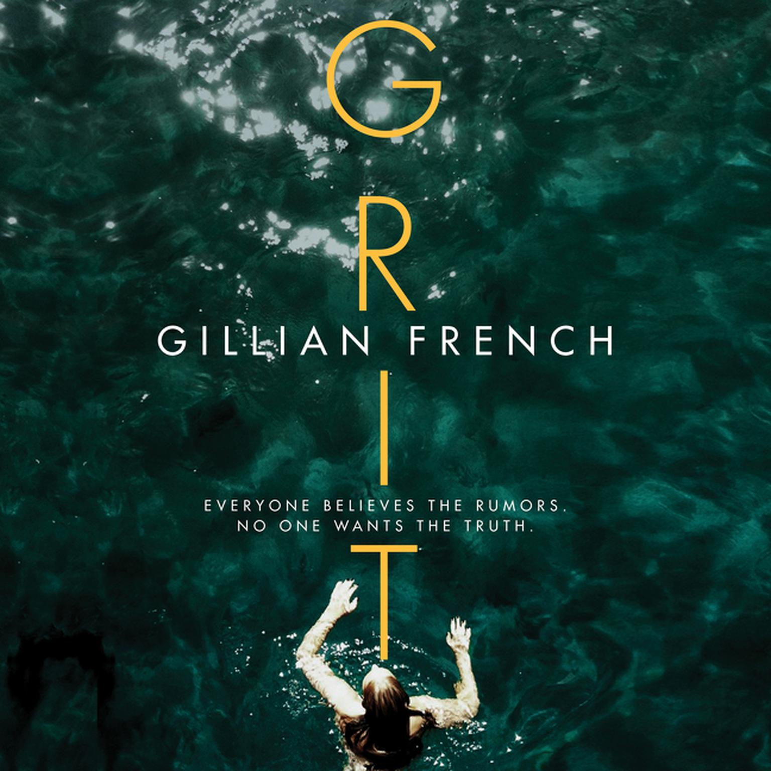 Printable Grit: A Novel Audiobook Cover Art