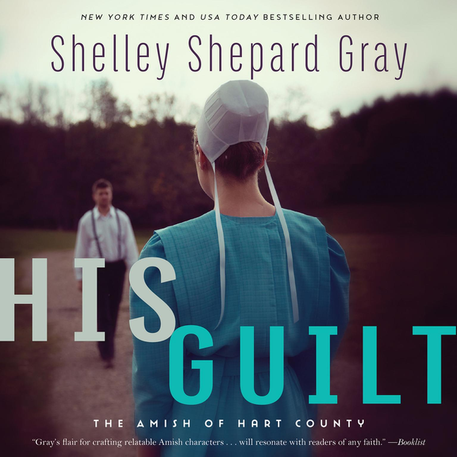 Printable His Guilt: The Amish of Hart County Audiobook Cover Art