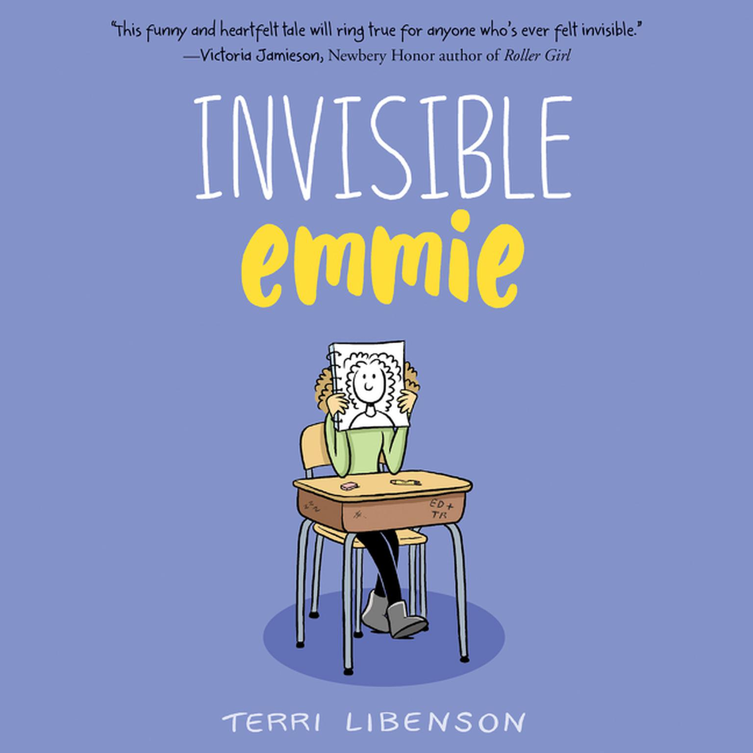 Printable Invisible Emmie Audiobook Cover Art