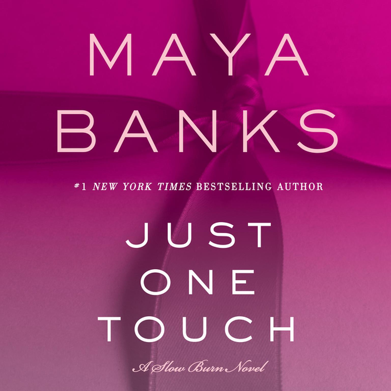 Printable Just One Touch: A Slow Burn Novel Audiobook Cover Art