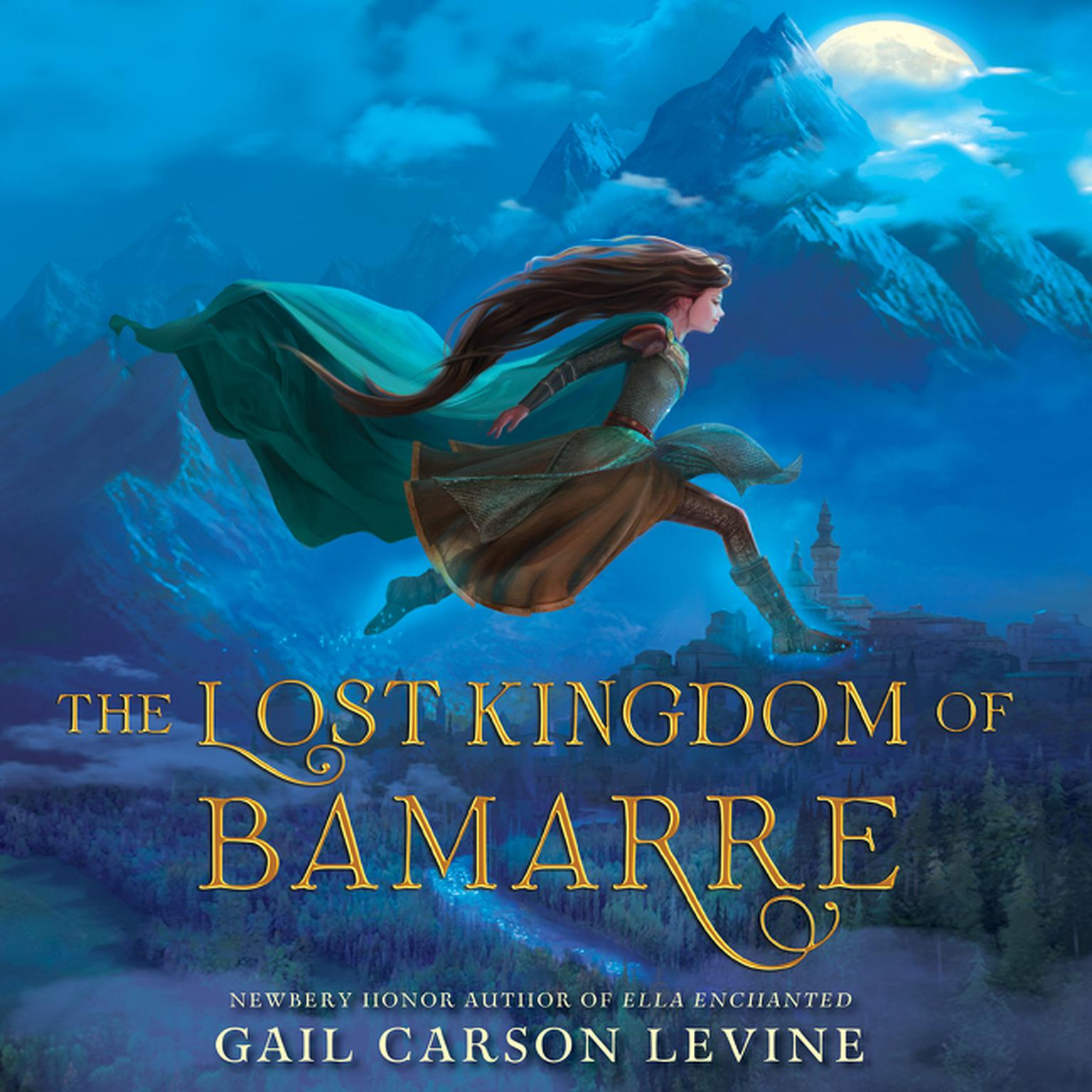 Printable The Lost Kingdom of Bamarre Audiobook Cover Art