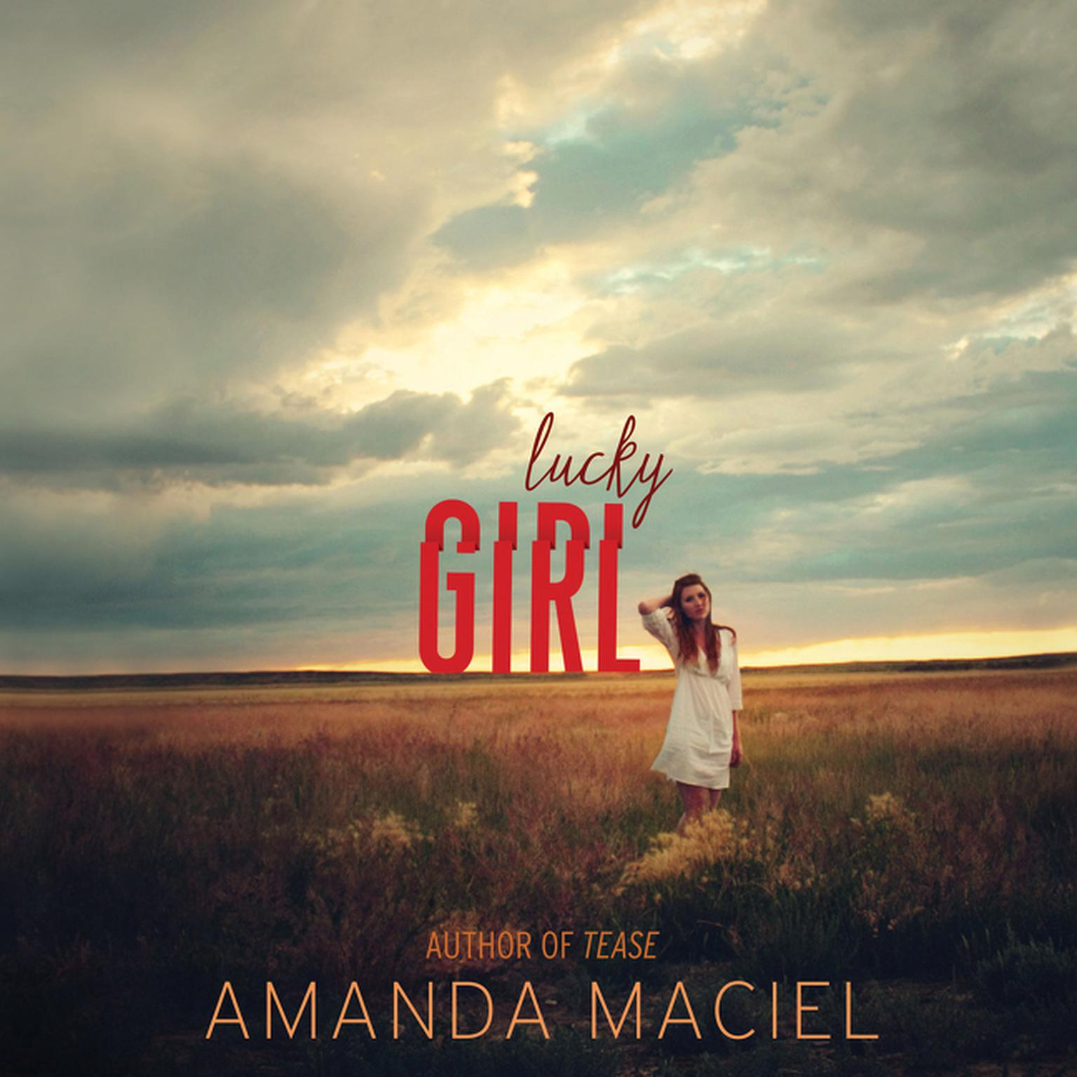Printable Lucky Girl Audiobook Cover Art