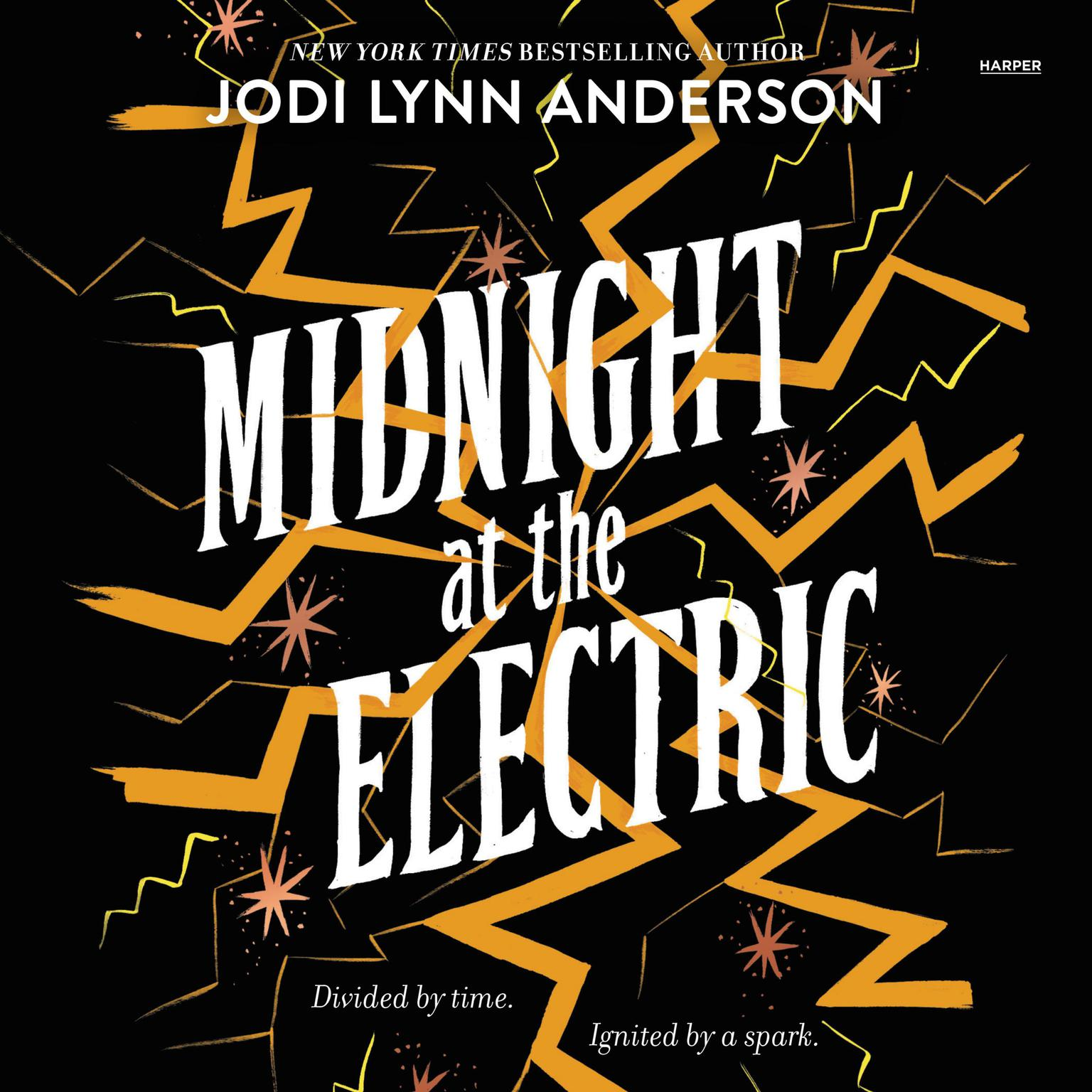 Printable Midnight at the Electric Audiobook Cover Art