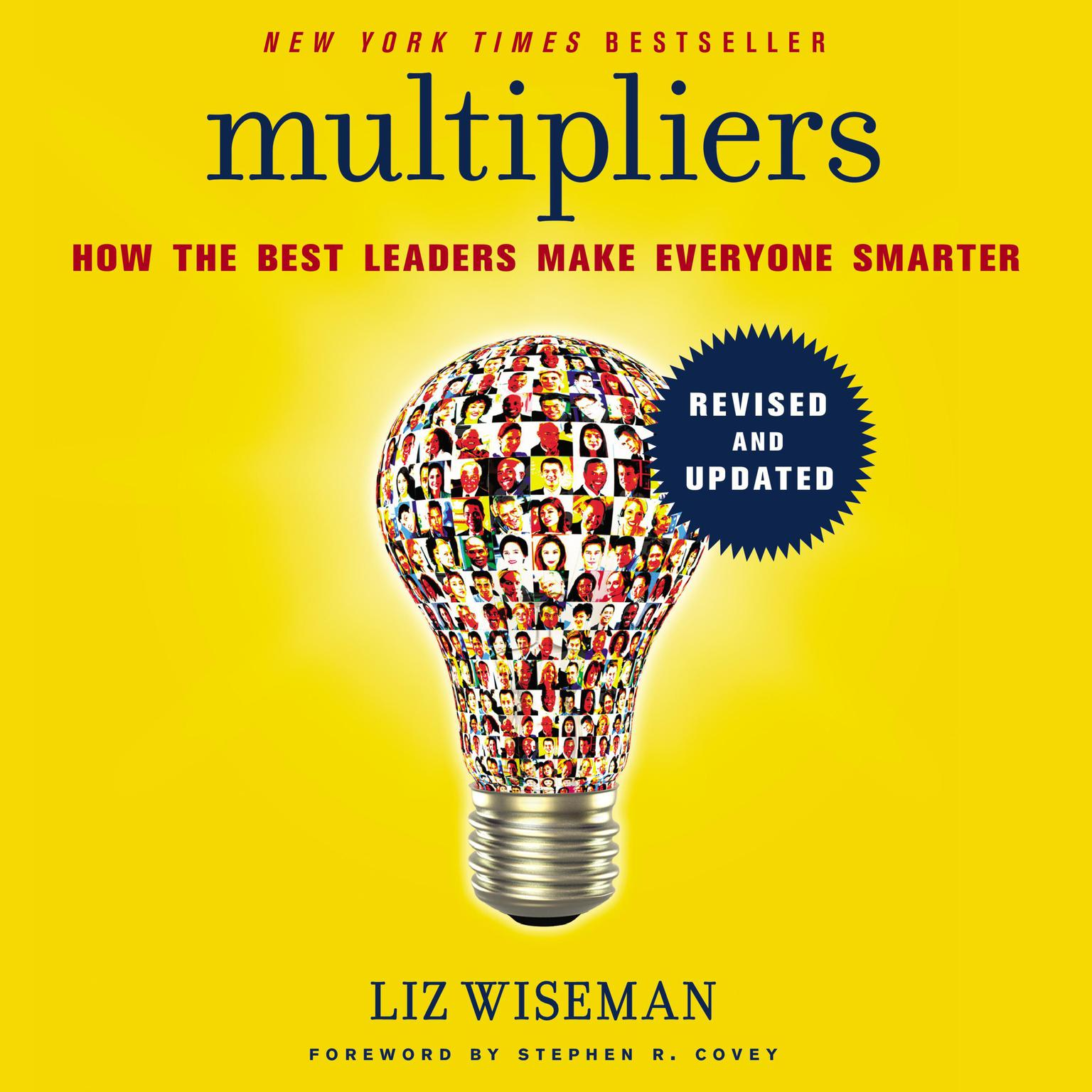 Printable Multipliers, Revised and Updated: How the Best Leaders Make Everyone Smarter Audiobook Cover Art