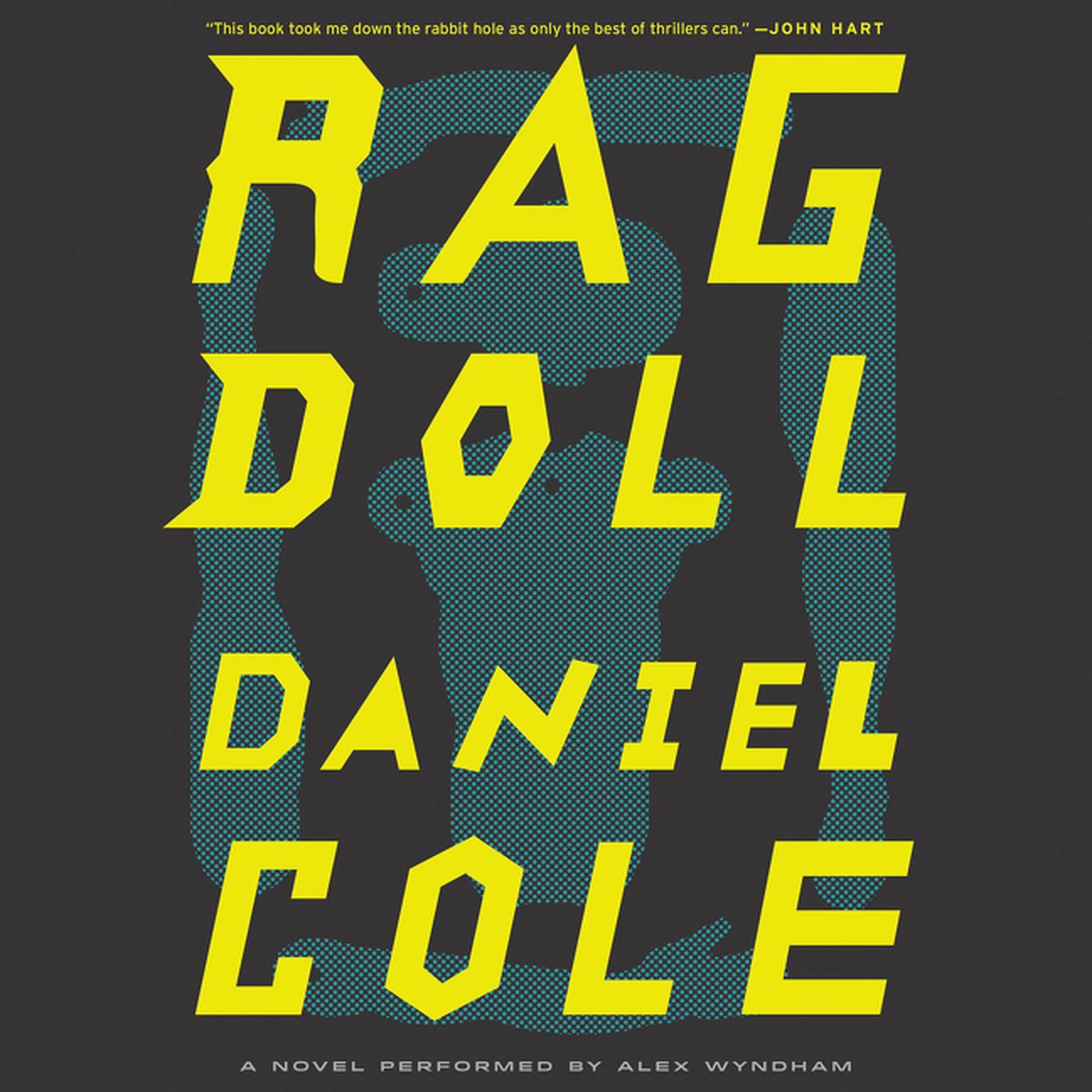 Printable Ragdoll: A Novel Audiobook Cover Art