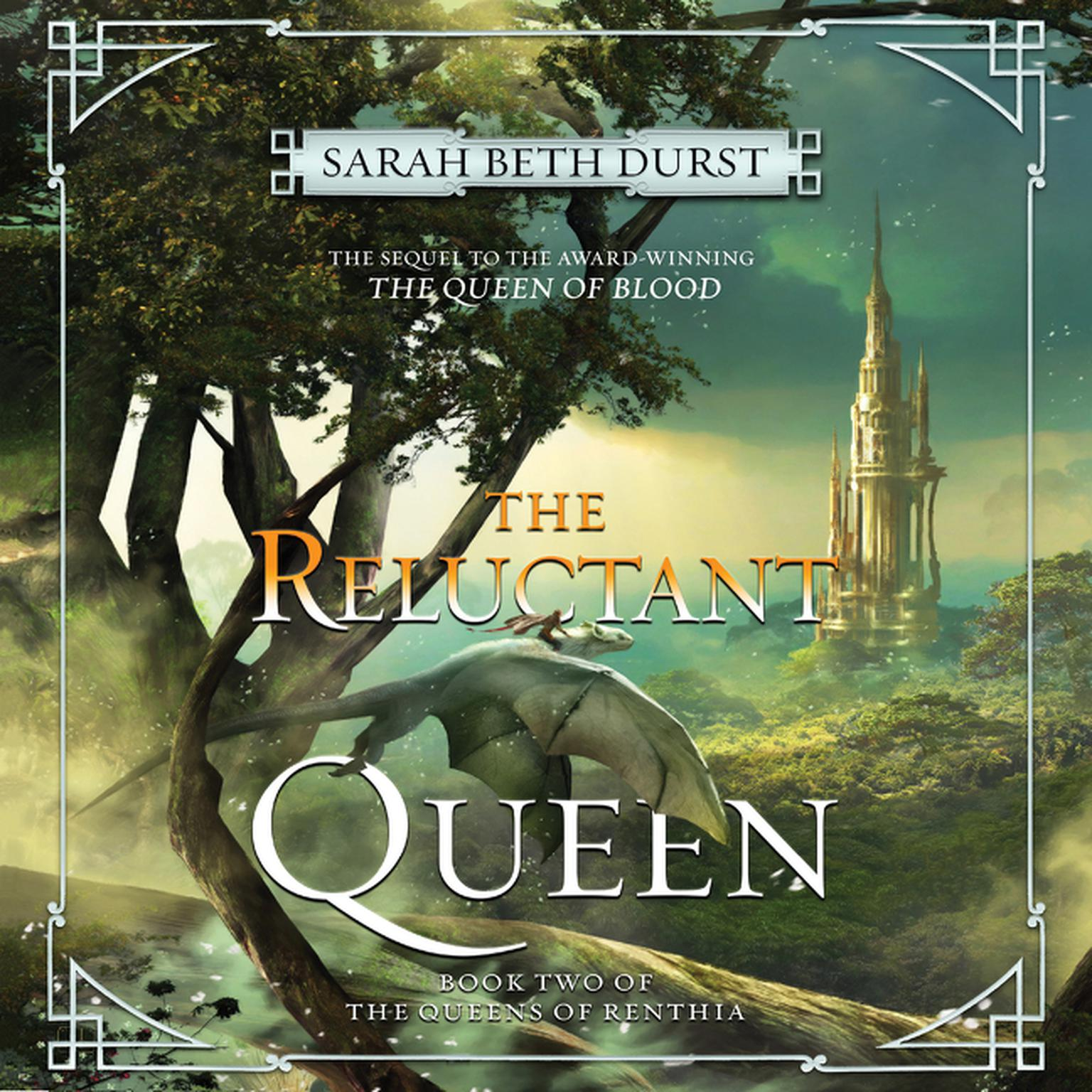 Printable The Reluctant Queen: Book Two of The Queens of Renthia Audiobook Cover Art