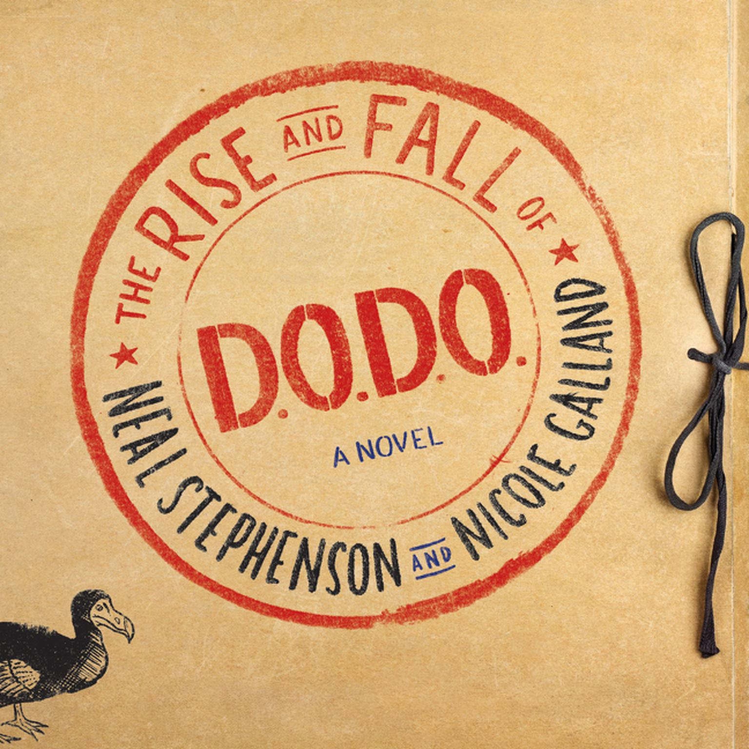 Printable The Rise and Fall of D.O.D.O.: A Novel Audiobook Cover Art