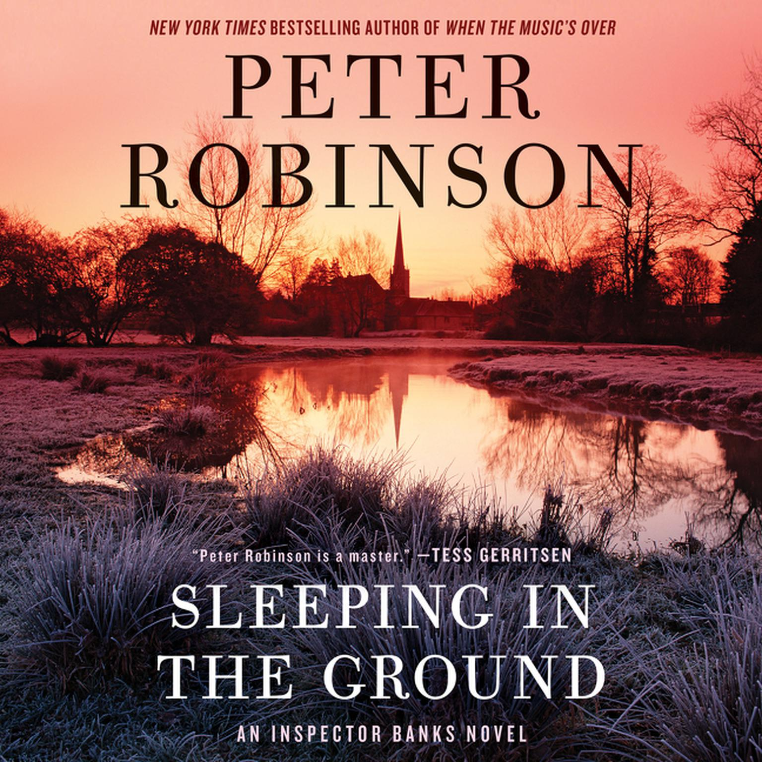 Printable Sleeping in the Ground: An Inspector Banks Novel Audiobook Cover Art