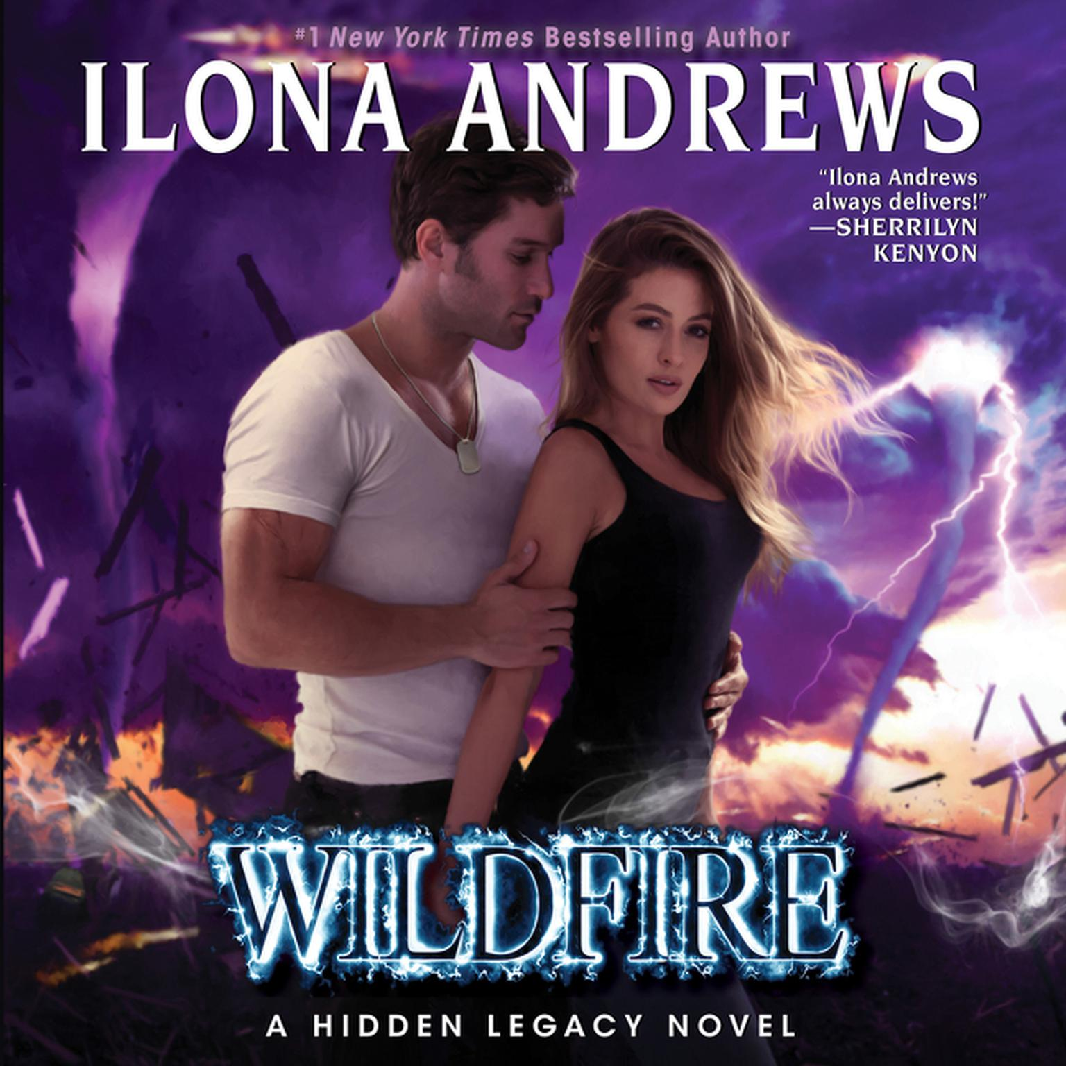 Printable Wildfire: A Hidden Legacy Novel Audiobook Cover Art