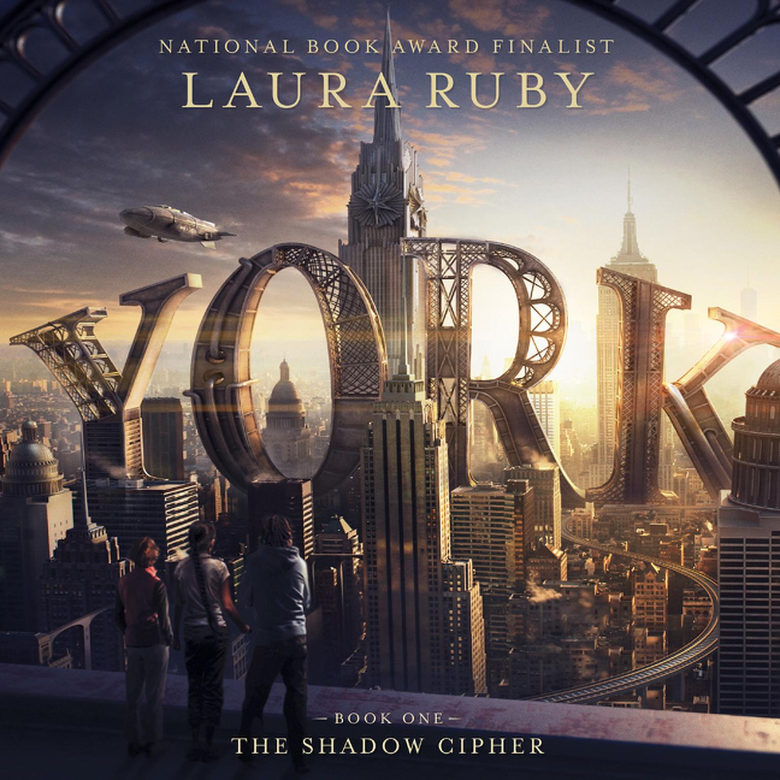 Printable York: The Shadow Cipher Audiobook Cover Art