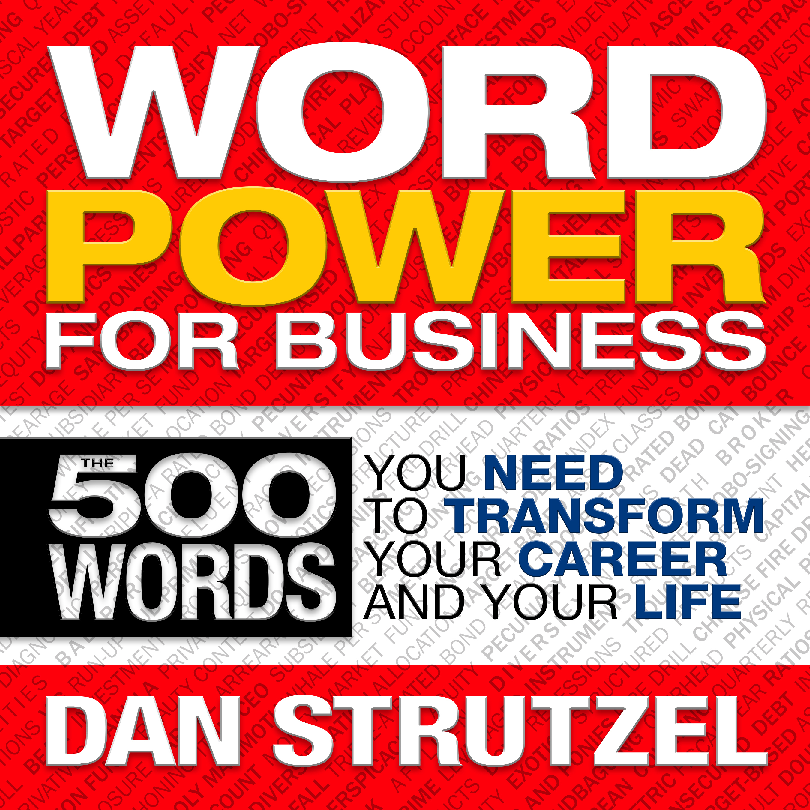 Printable Word Power for Business: 500 Words You Need to Transform Your Career and Your Life Audiobook Cover Art