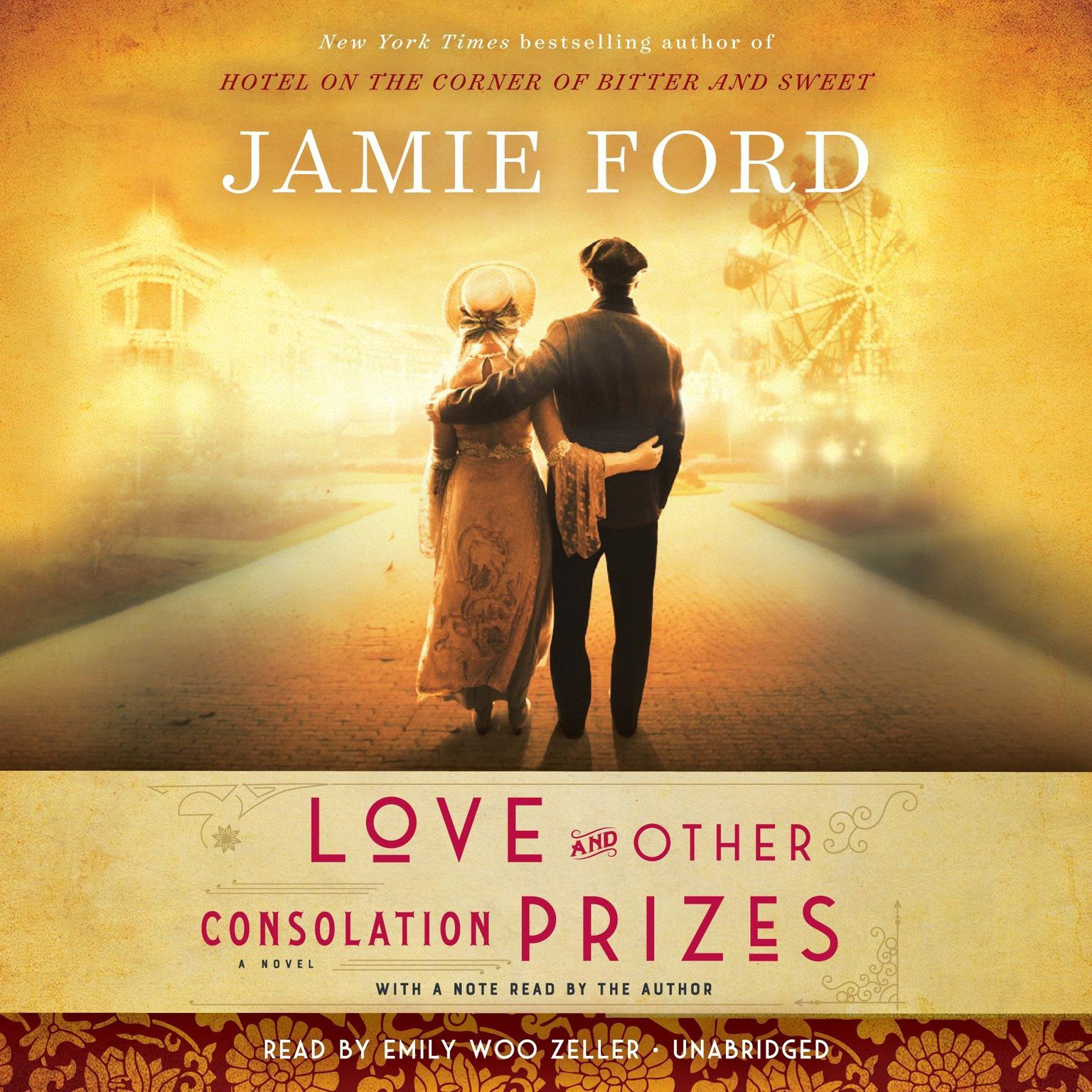Printable Love and Other Consolation Prizes: A Novel Audiobook Cover Art