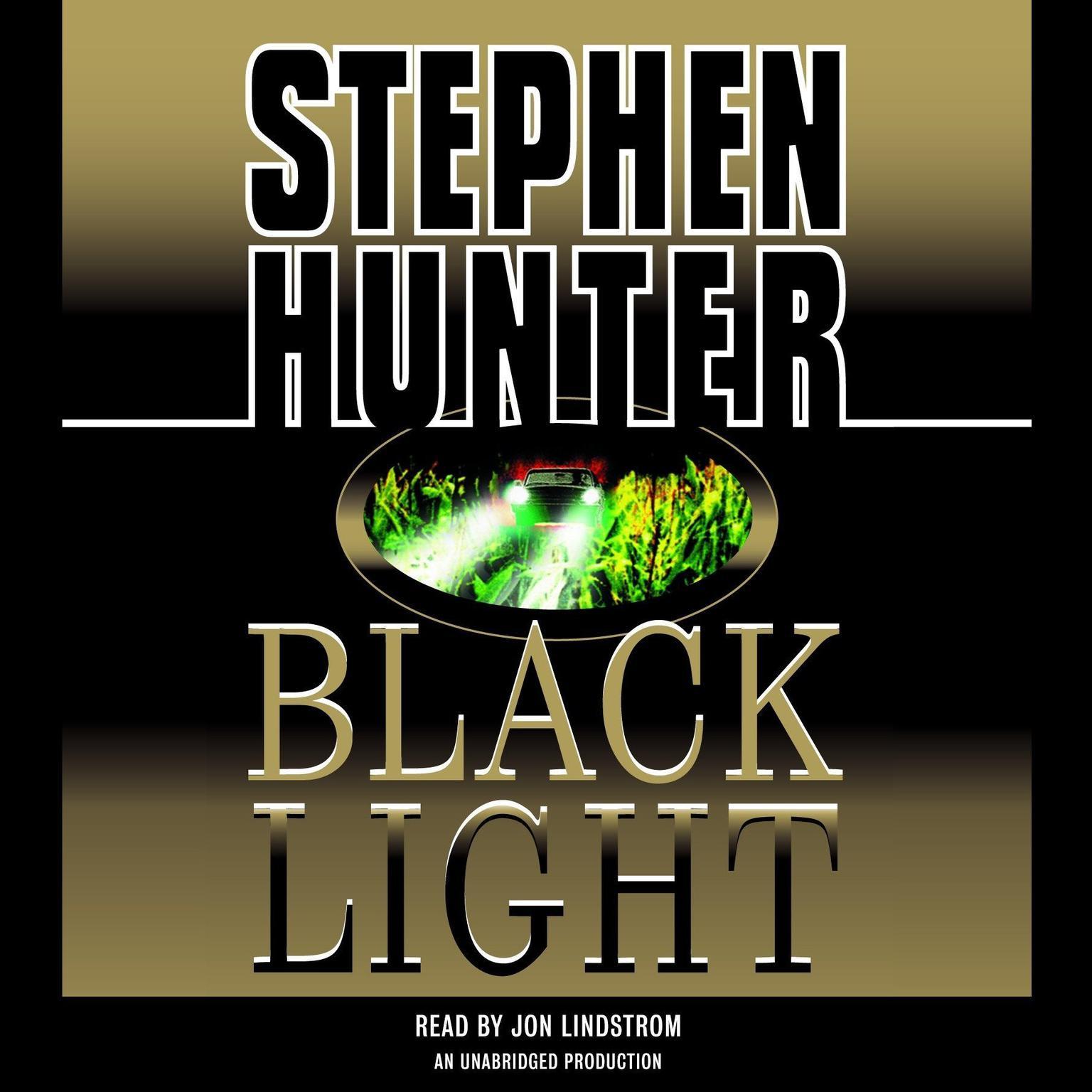 Printable Black Light Audiobook Cover Art