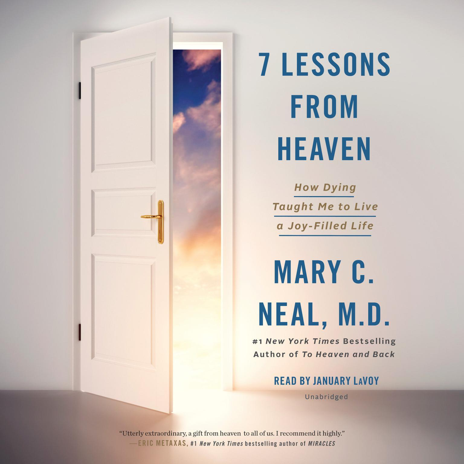 Printable 7 Lessons from Heaven: How Dying Taught Me to Live a Joy-Filled Life Audiobook Cover Art