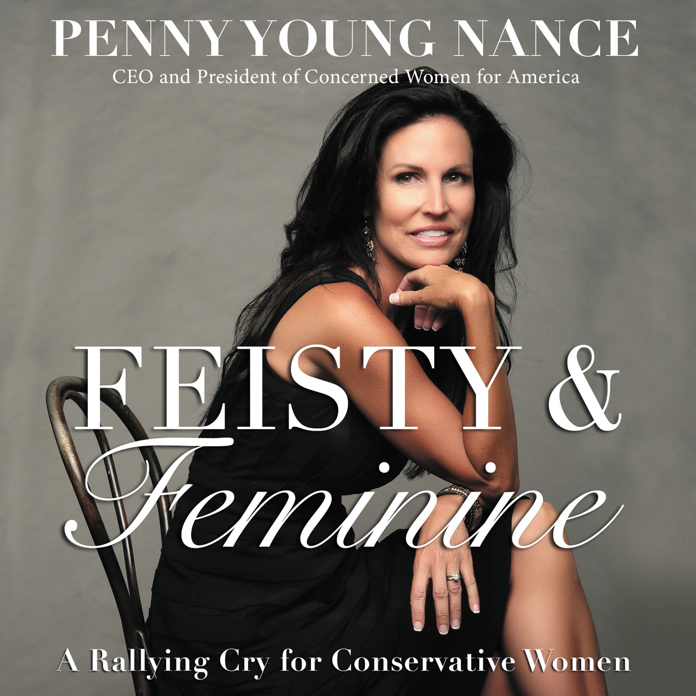 Printable Feisty and   Feminine: A Rallying Cry for Conservative Women Audiobook Cover Art