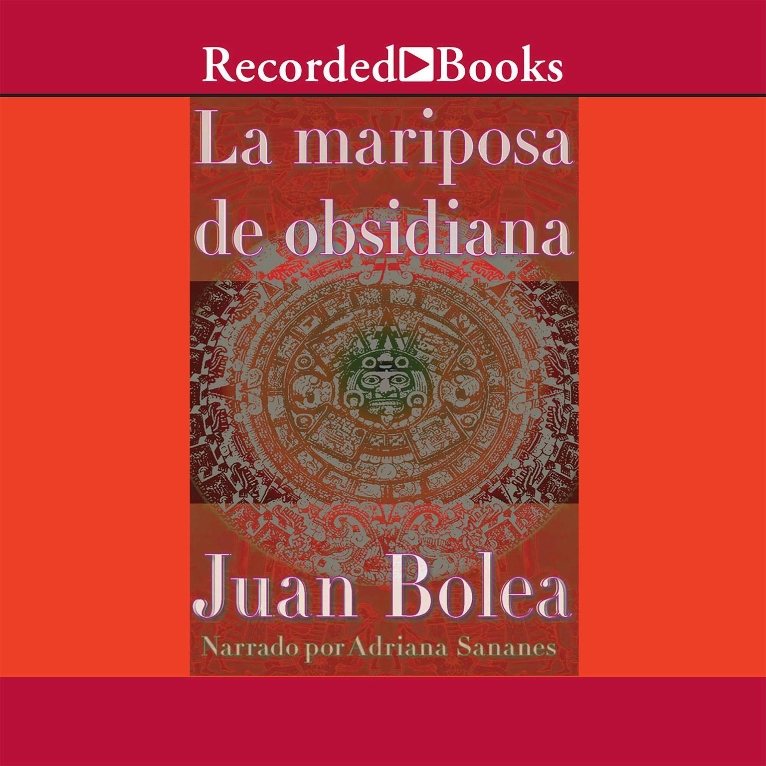 Printable La mariposa de obsidiana Audiobook Cover Art