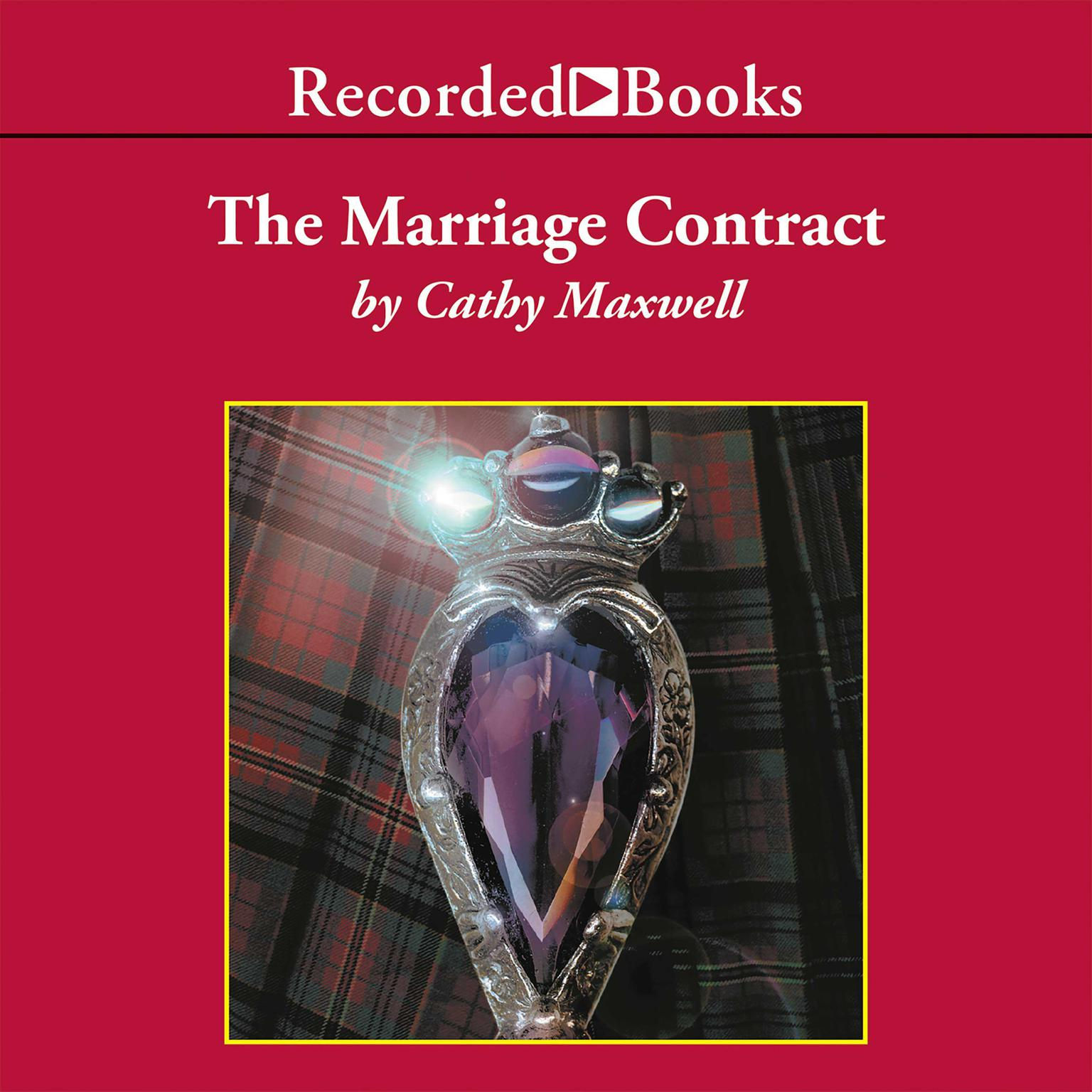 Printable The Marriage Contract Audiobook Cover Art