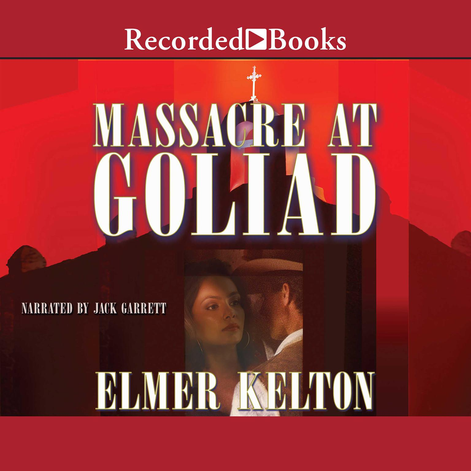 Printable Massacre at Goliad Audiobook Cover Art