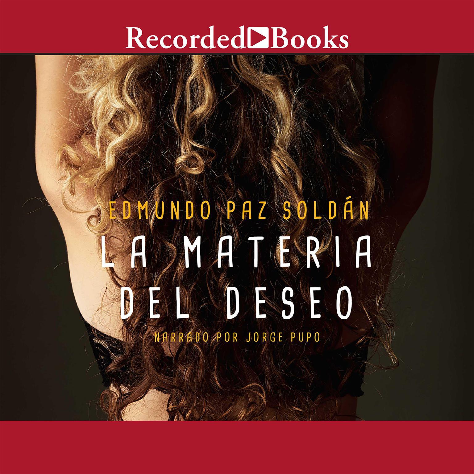 Printable La Materia Del Deseo Audiobook Cover Art