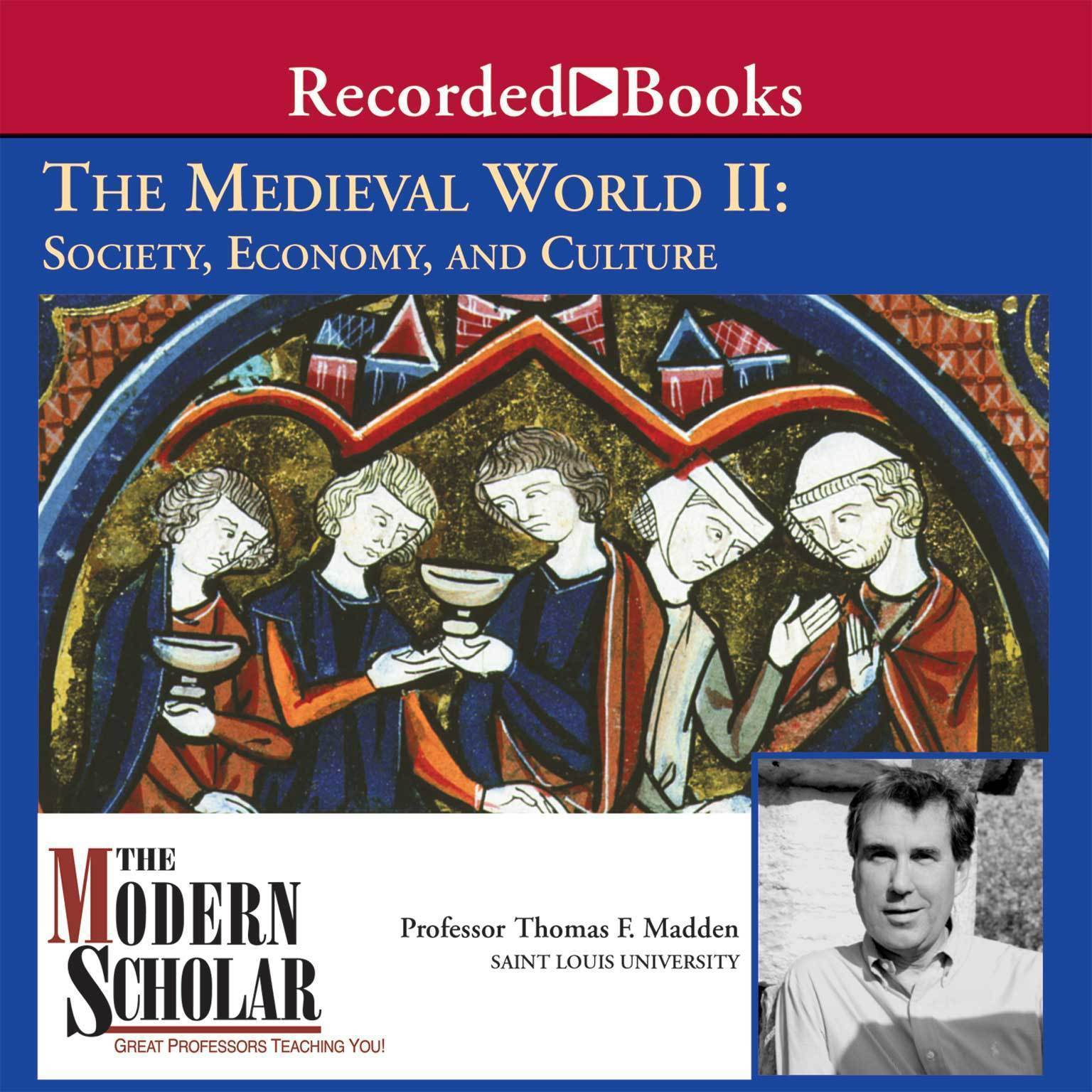 Printable The Medieval World II: Society, Economy, and Culture Audiobook Cover Art
