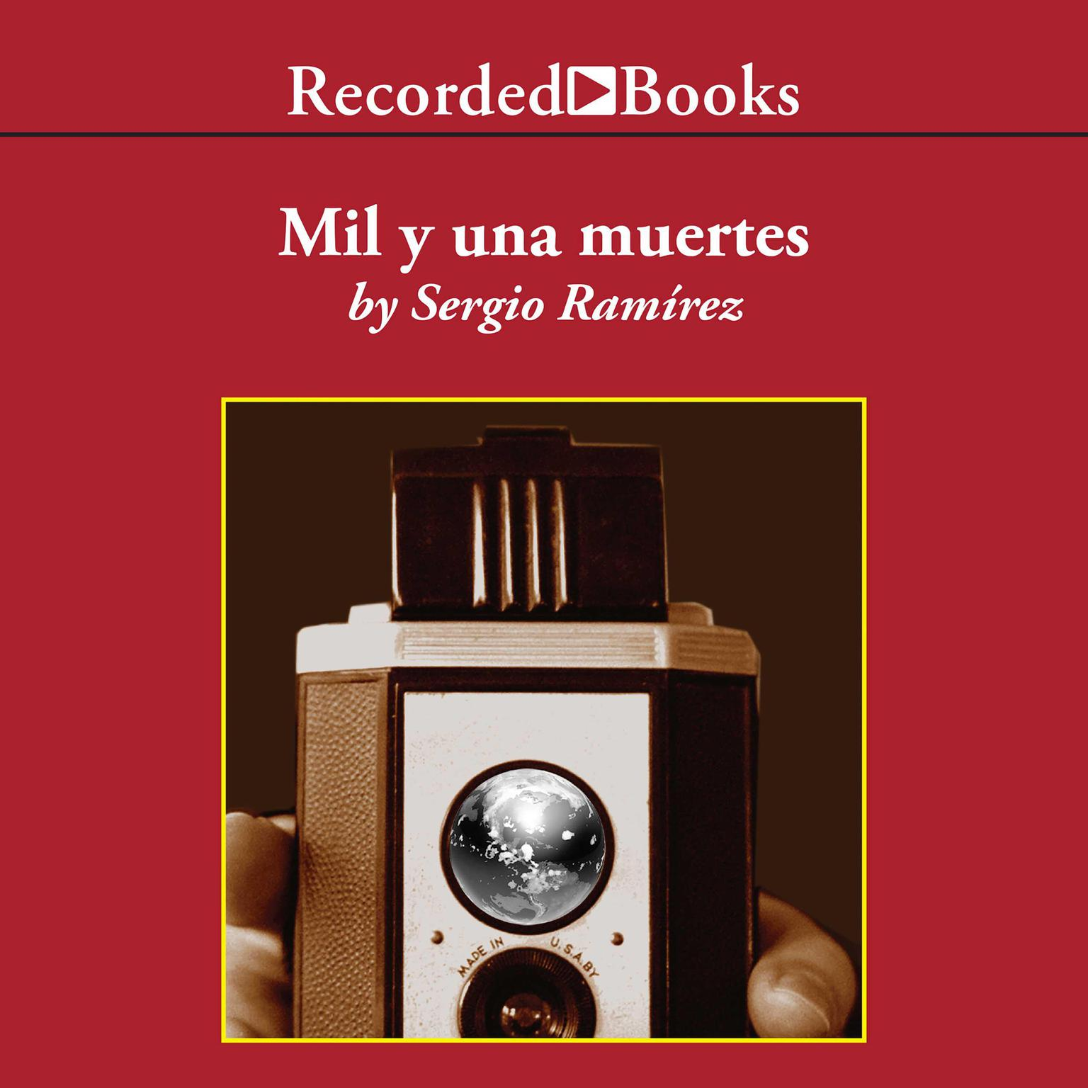 Printable Mil y una muertes Audiobook Cover Art