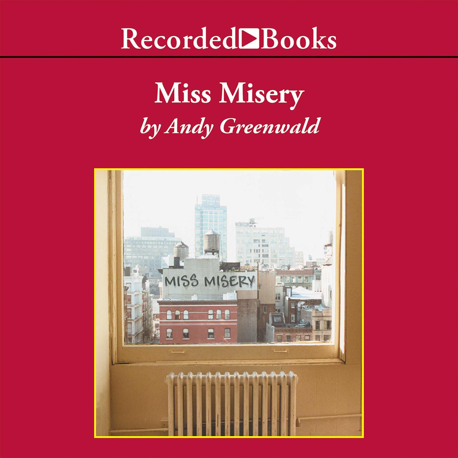 Printable Miss Misery Audiobook Cover Art