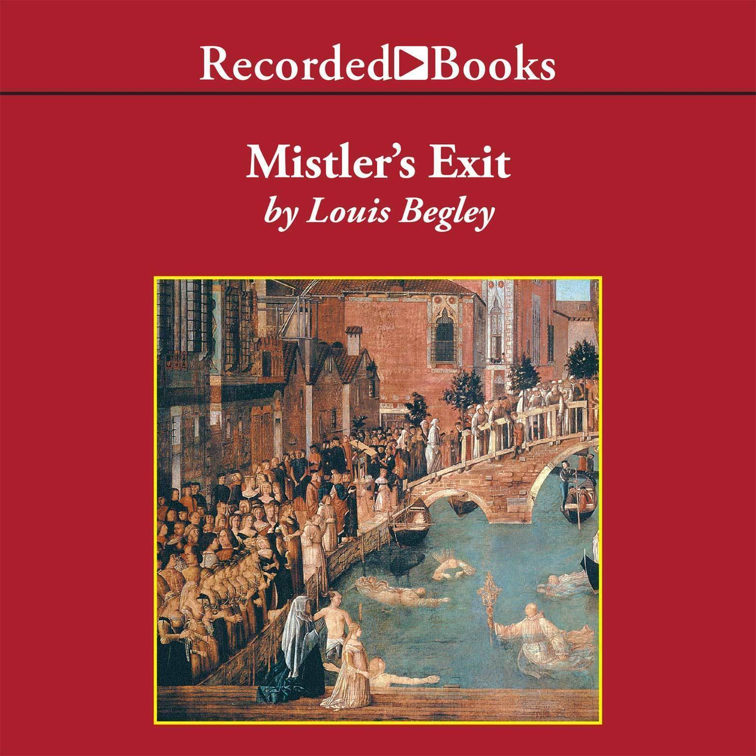 Printable Mistler's Exit Audiobook Cover Art