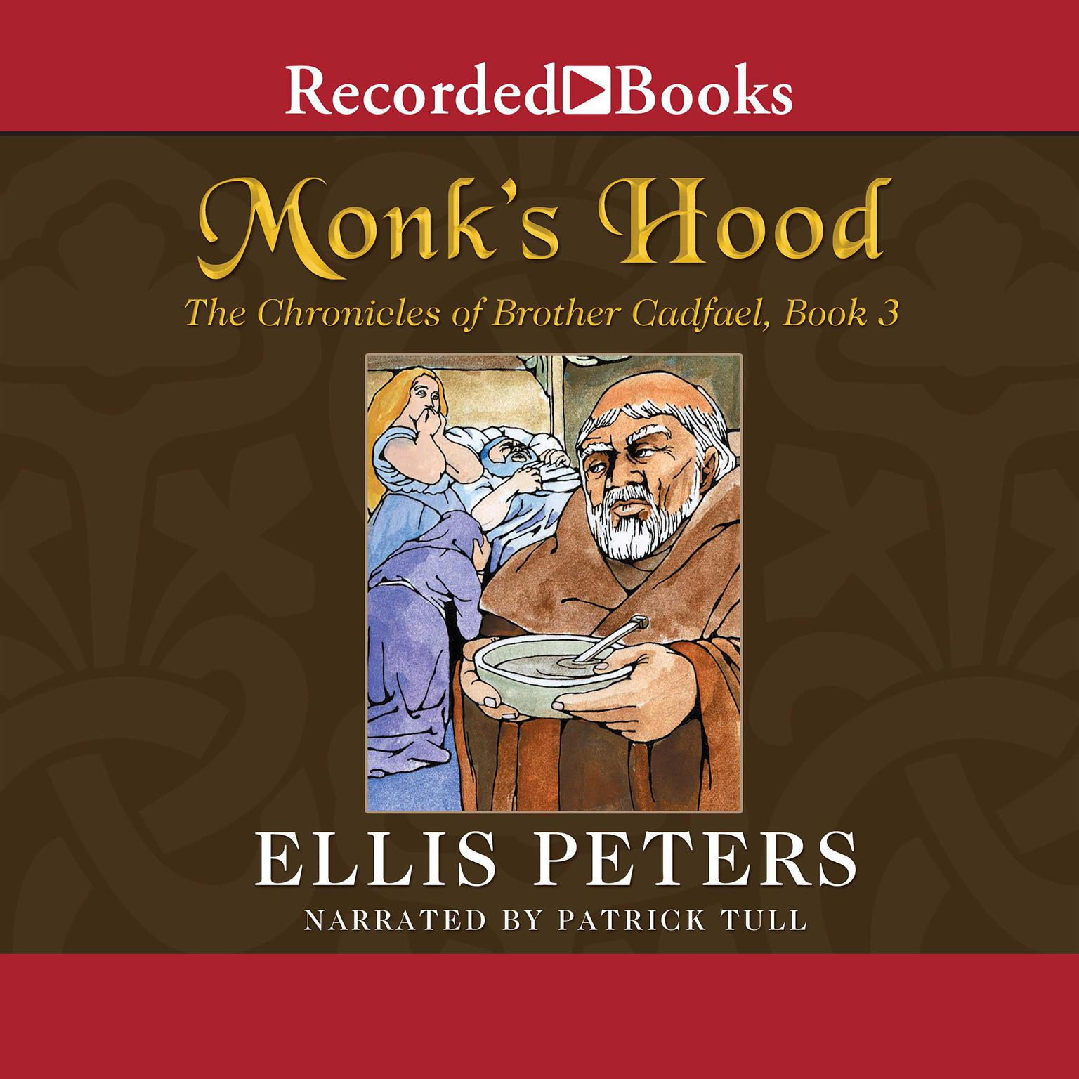 Printable Monk's Hood Audiobook Cover Art