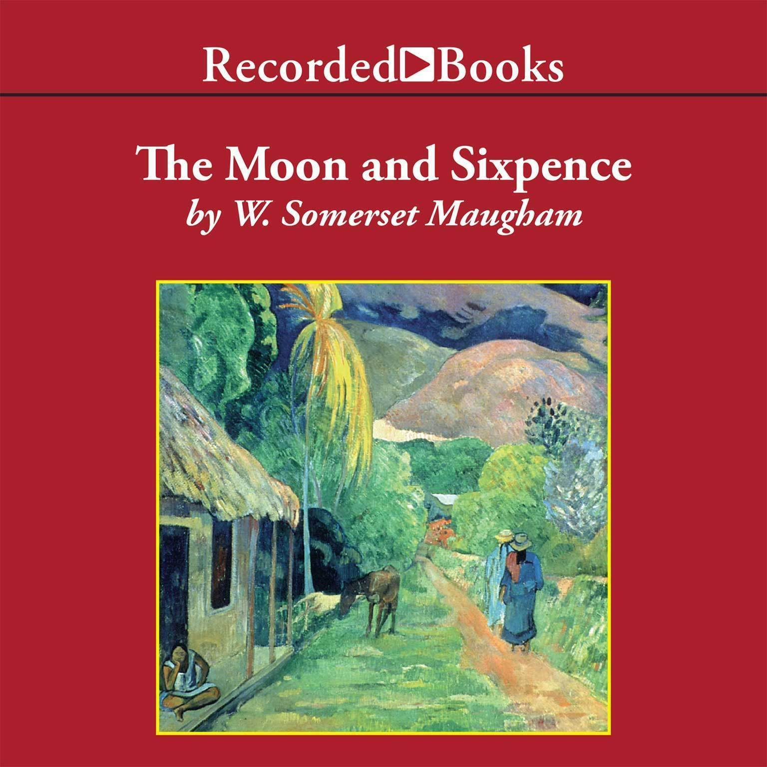 Printable The Moon and Sixpence Audiobook Cover Art