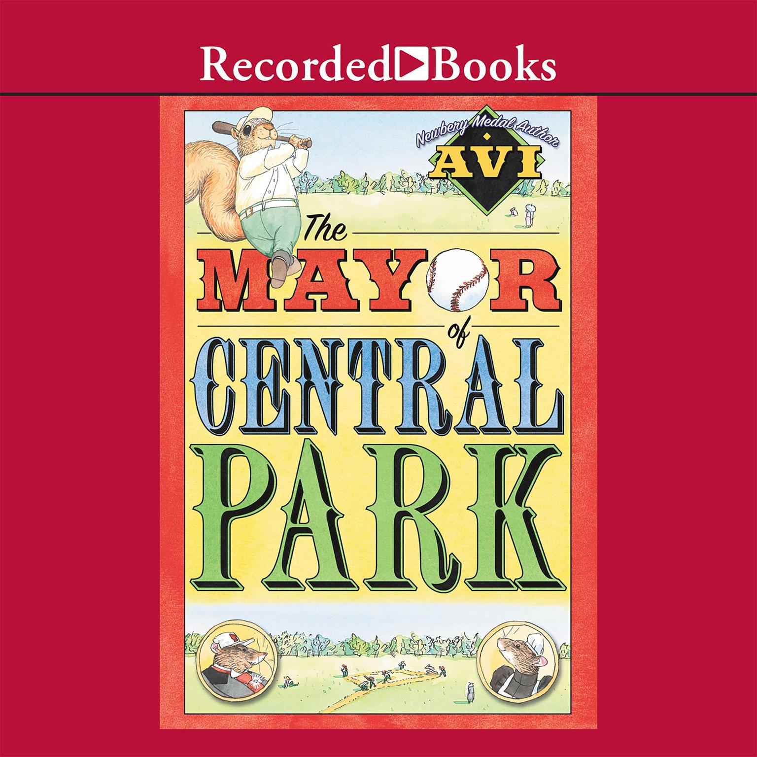 Printable The Mayor of Central Park Audiobook Cover Art