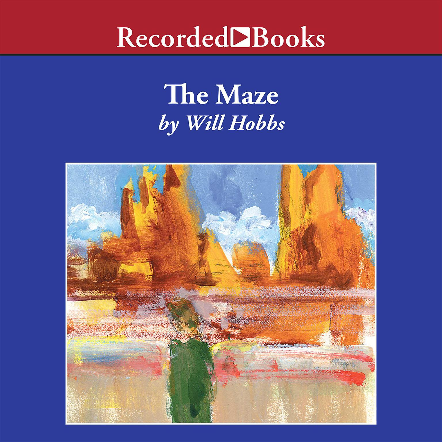 Printable The Maze Audiobook Cover Art