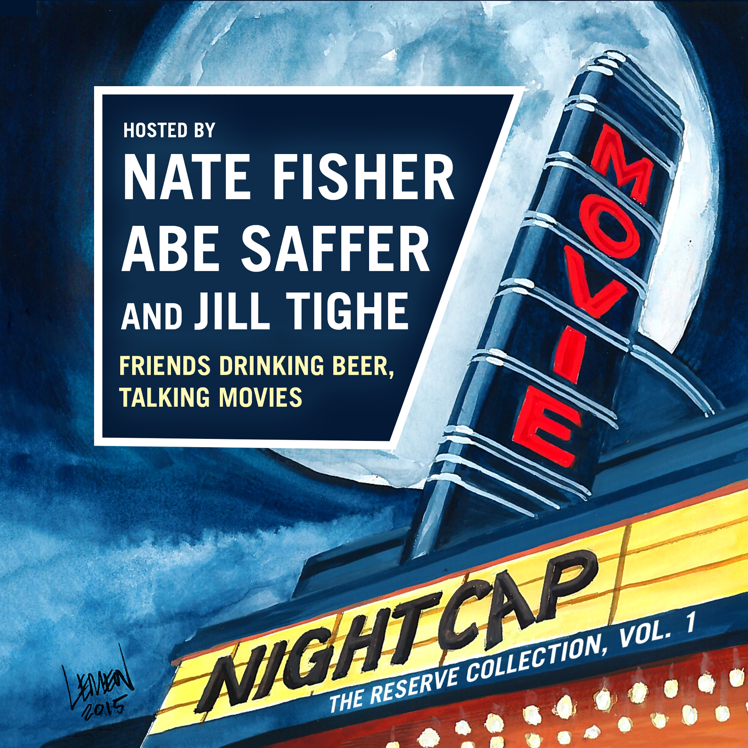 Printable Movie Nightcap: The Reserve Collection, Vol. 1 Audiobook Cover Art