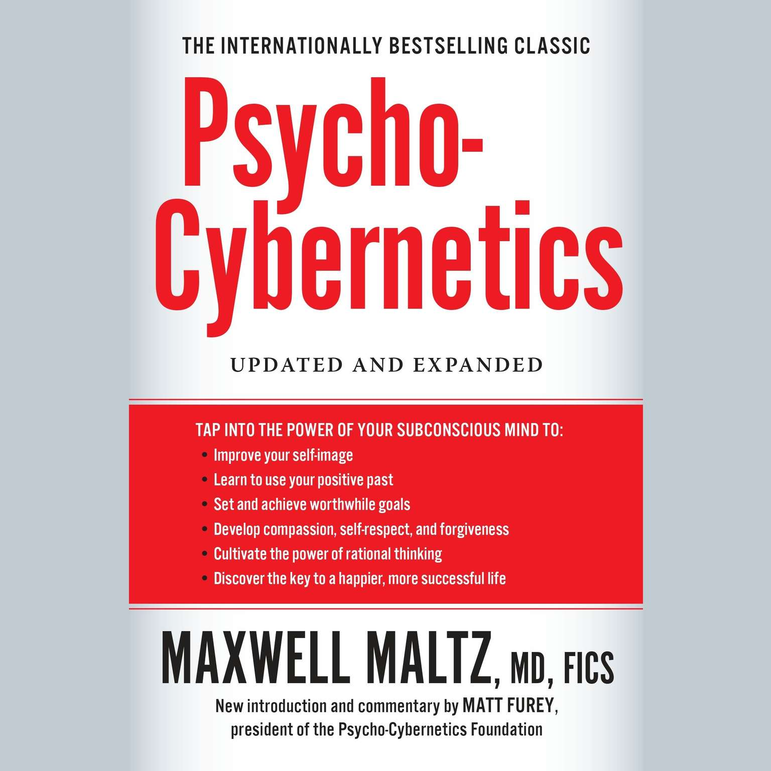 Printable Psycho-Cybernetics: Updated and Expanded Audiobook Cover Art