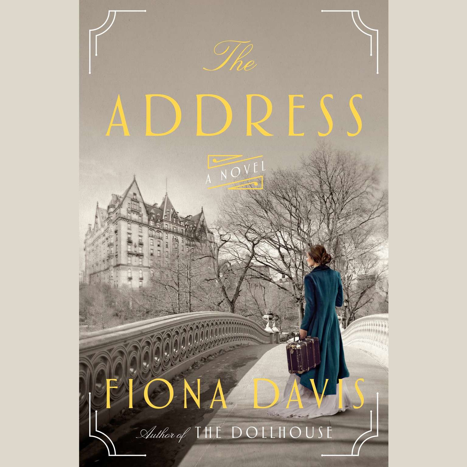 Printable The Address: A Novel Audiobook Cover Art