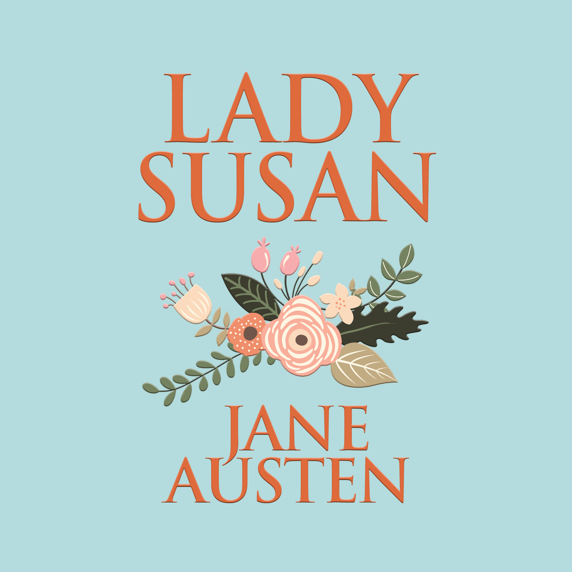 Printable Lady Susan Audiobook Cover Art