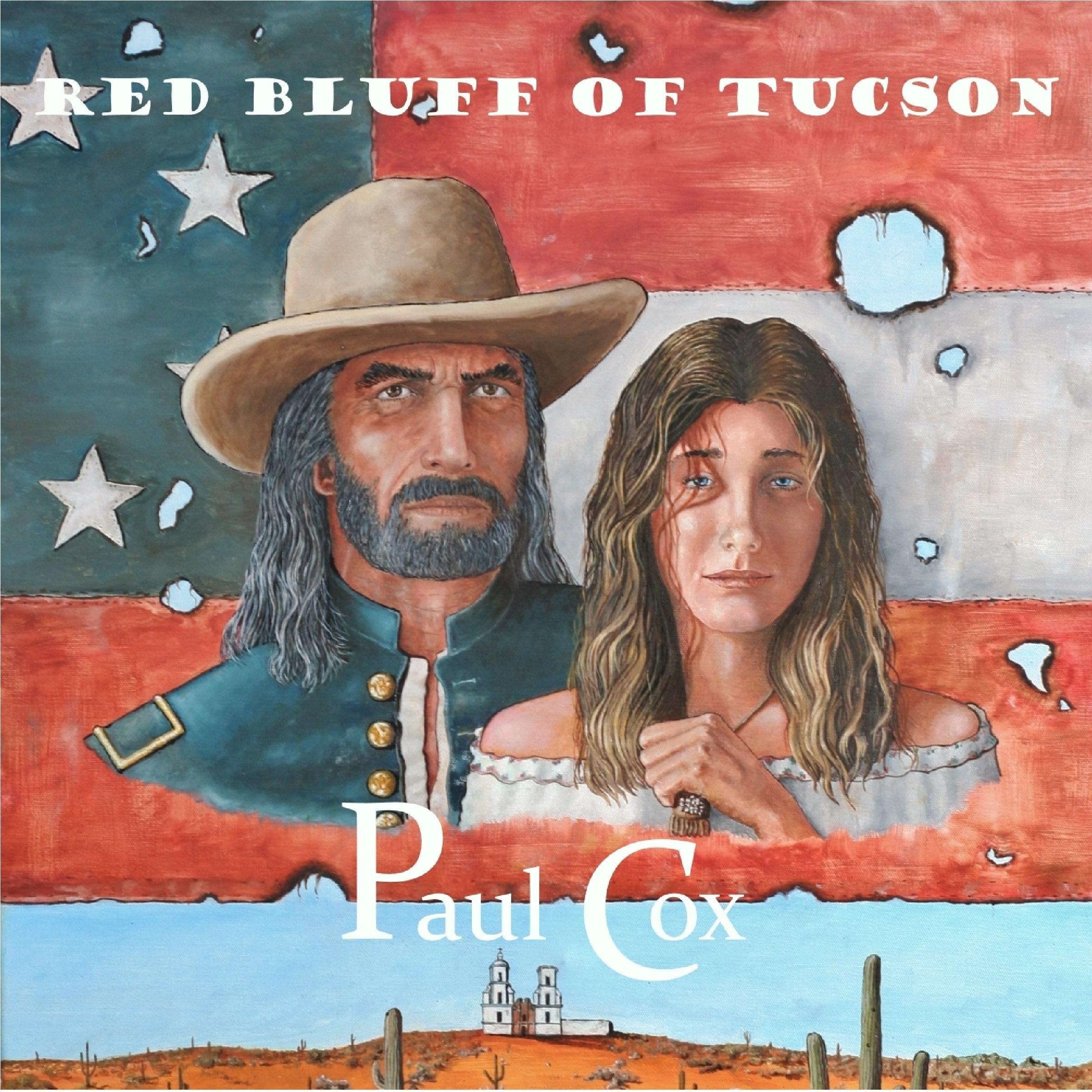 Printable Red Bluff of Tucson Audiobook Cover Art