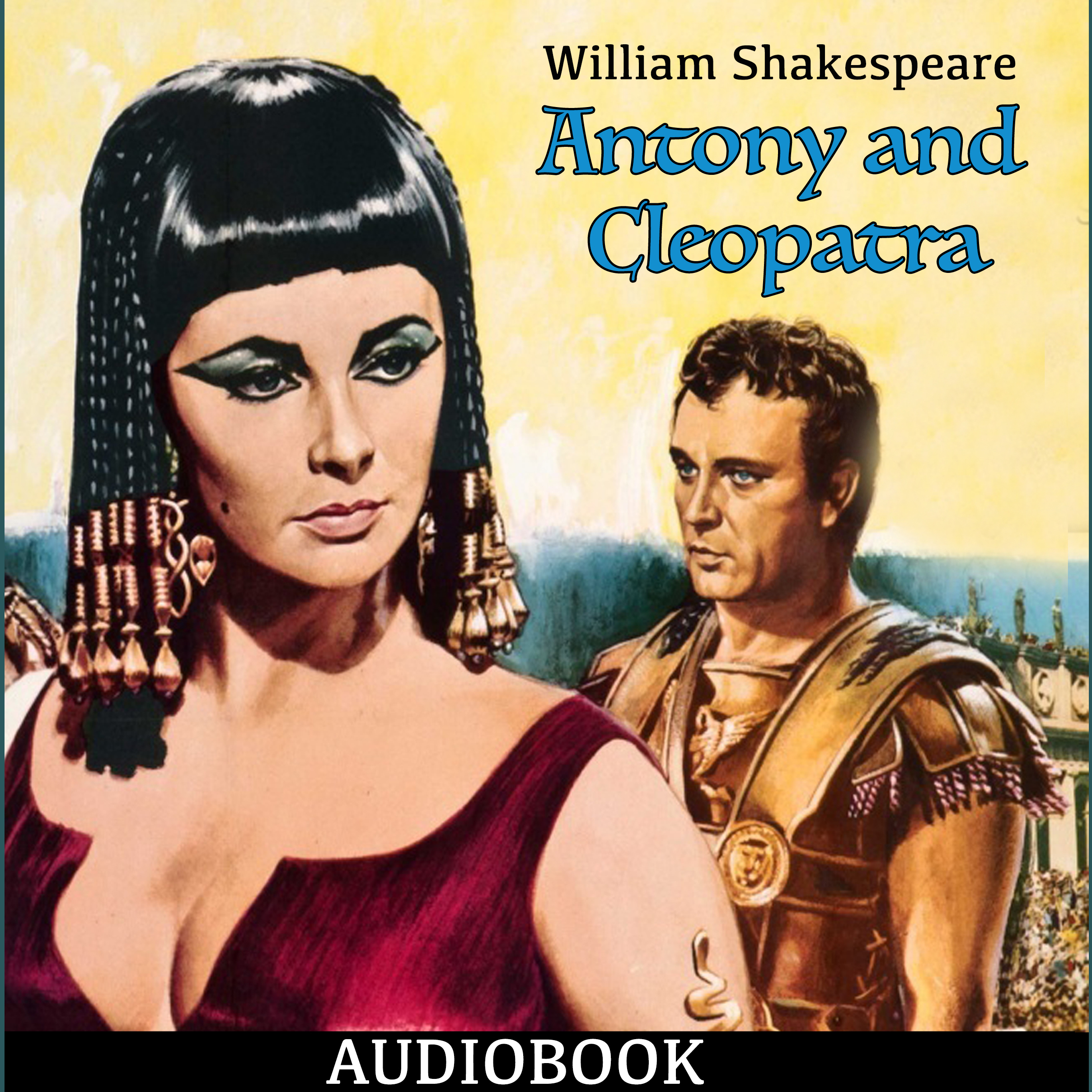 Printable Antony and Cleopatra Audiobook Cover Art
